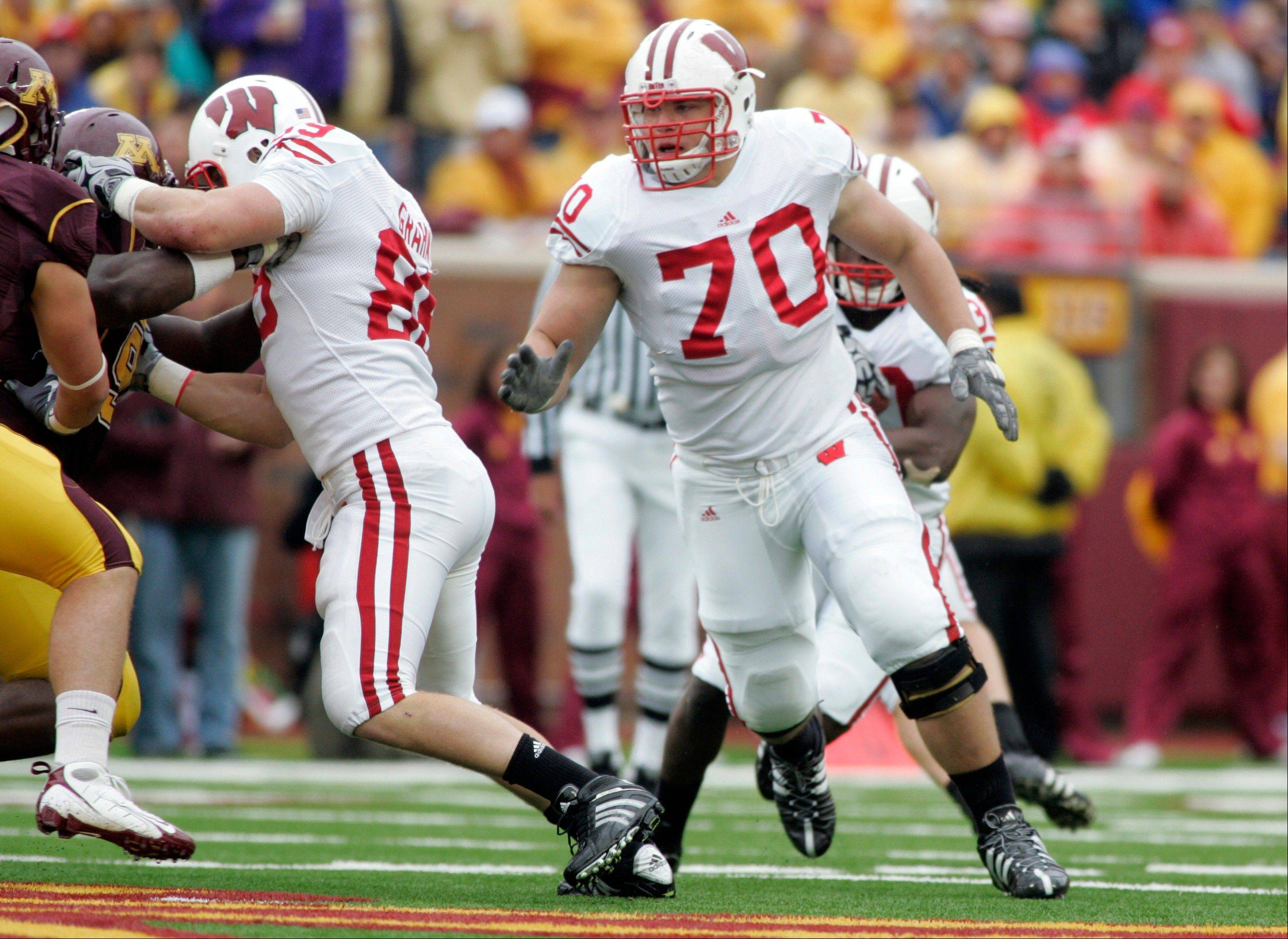 Wisconsin offensive lineman Kevin Zeitler was selected as the 27th pick overall by the Cincinnati Bengals in the first round of the NFL Draft at Radio City Music Hall.