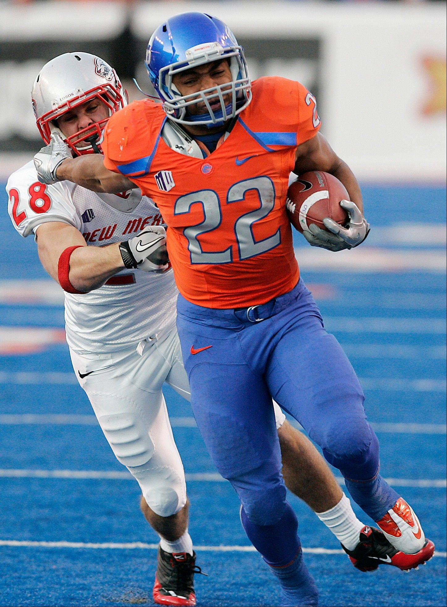 Boise State running back Doug Martin was selected as the 31st pick overall by the Tampa Bay Buccaneers in the first round of the NFL NFL Draft at Radio City Music Hall.