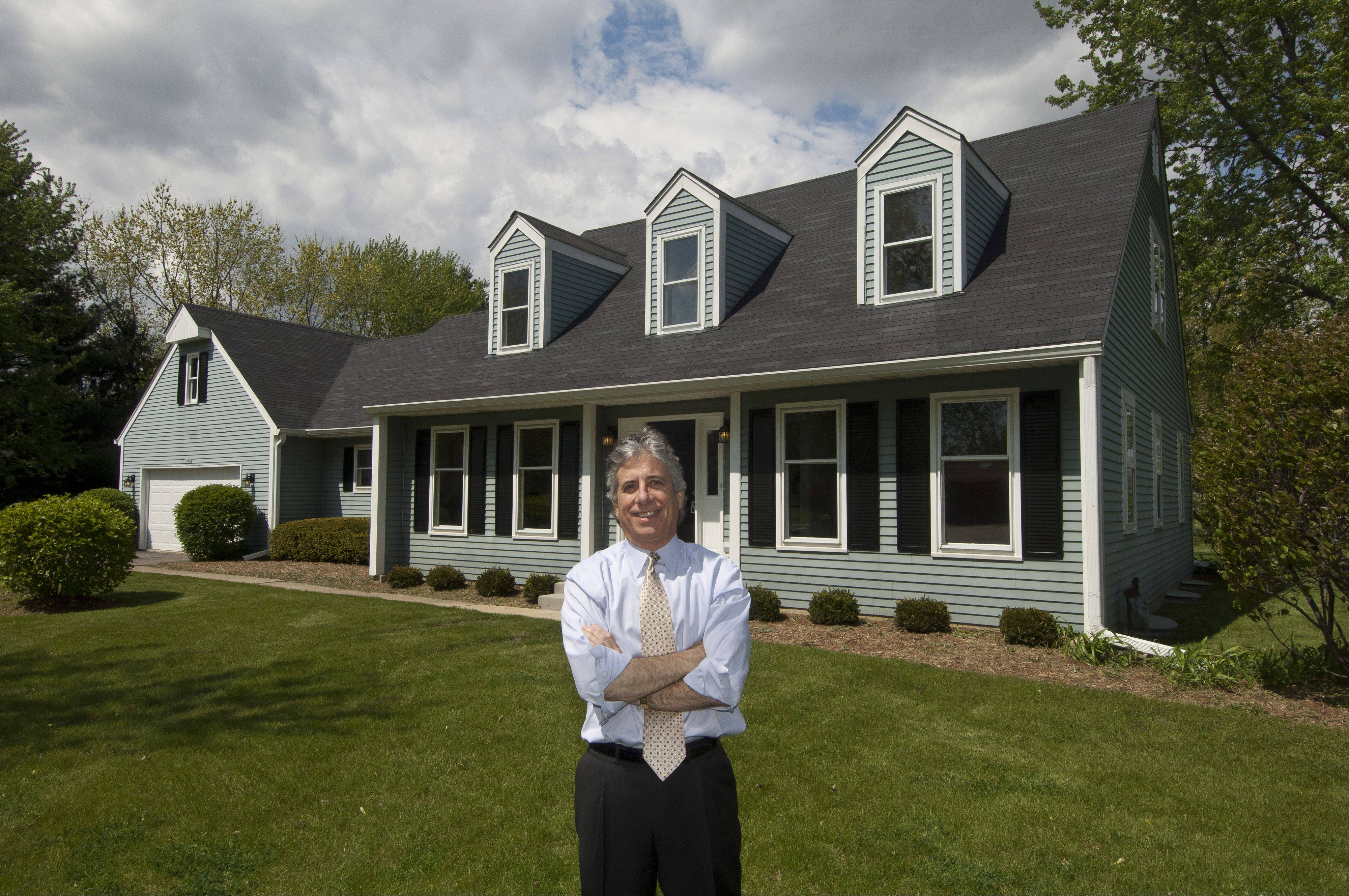 Buz Hoffman, president of Right Residential, buys, rehabs and sells houses that have gone through foreclosure.