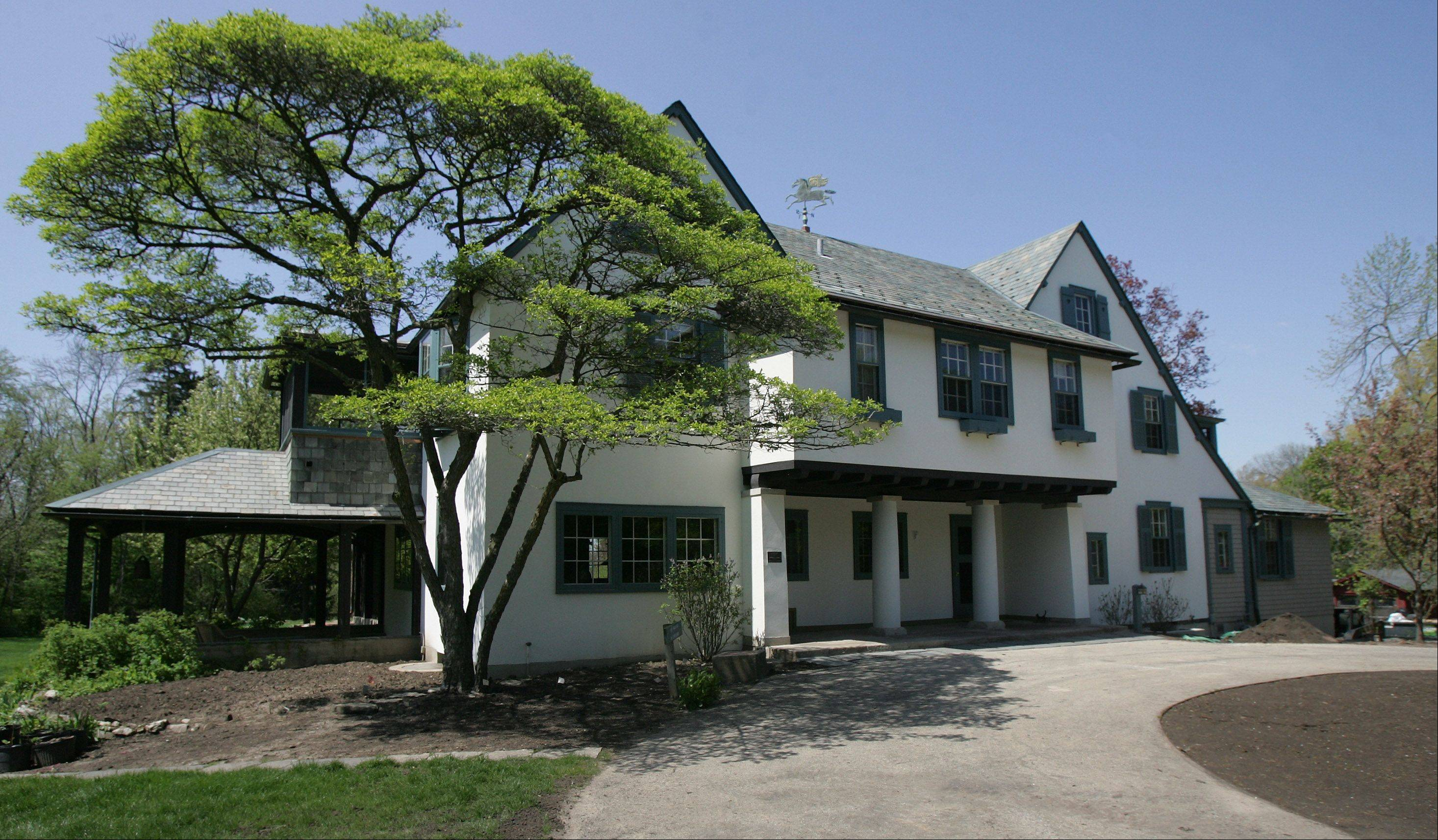 Ragdale was a summer home when Howard Van Doren Shaw built it in 1897 in Lake Forest.