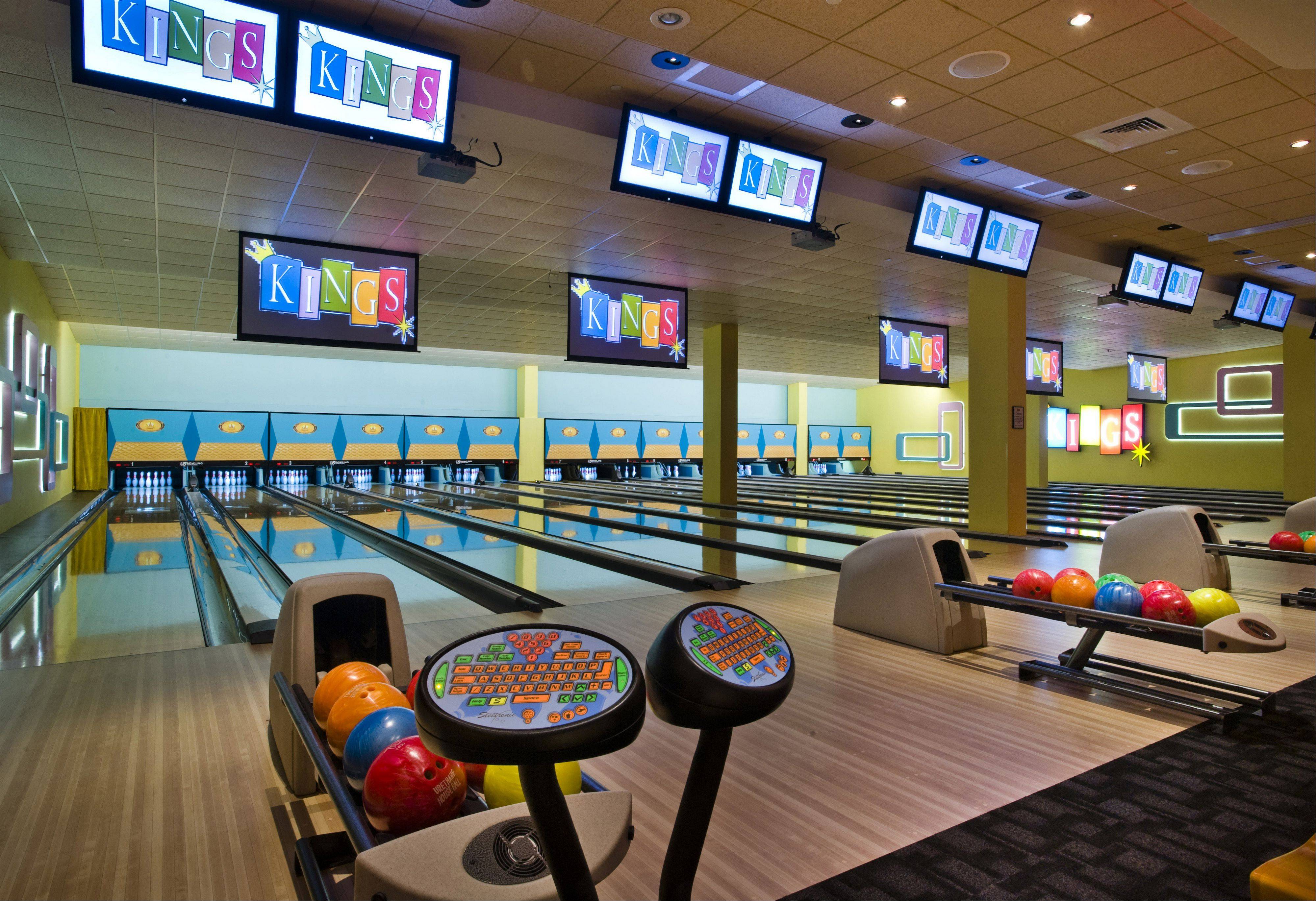 Kings Bowling due to open Wednesday in the new The Park at Rosemont entertainment district in Rosemont will resemble this location in Boston.