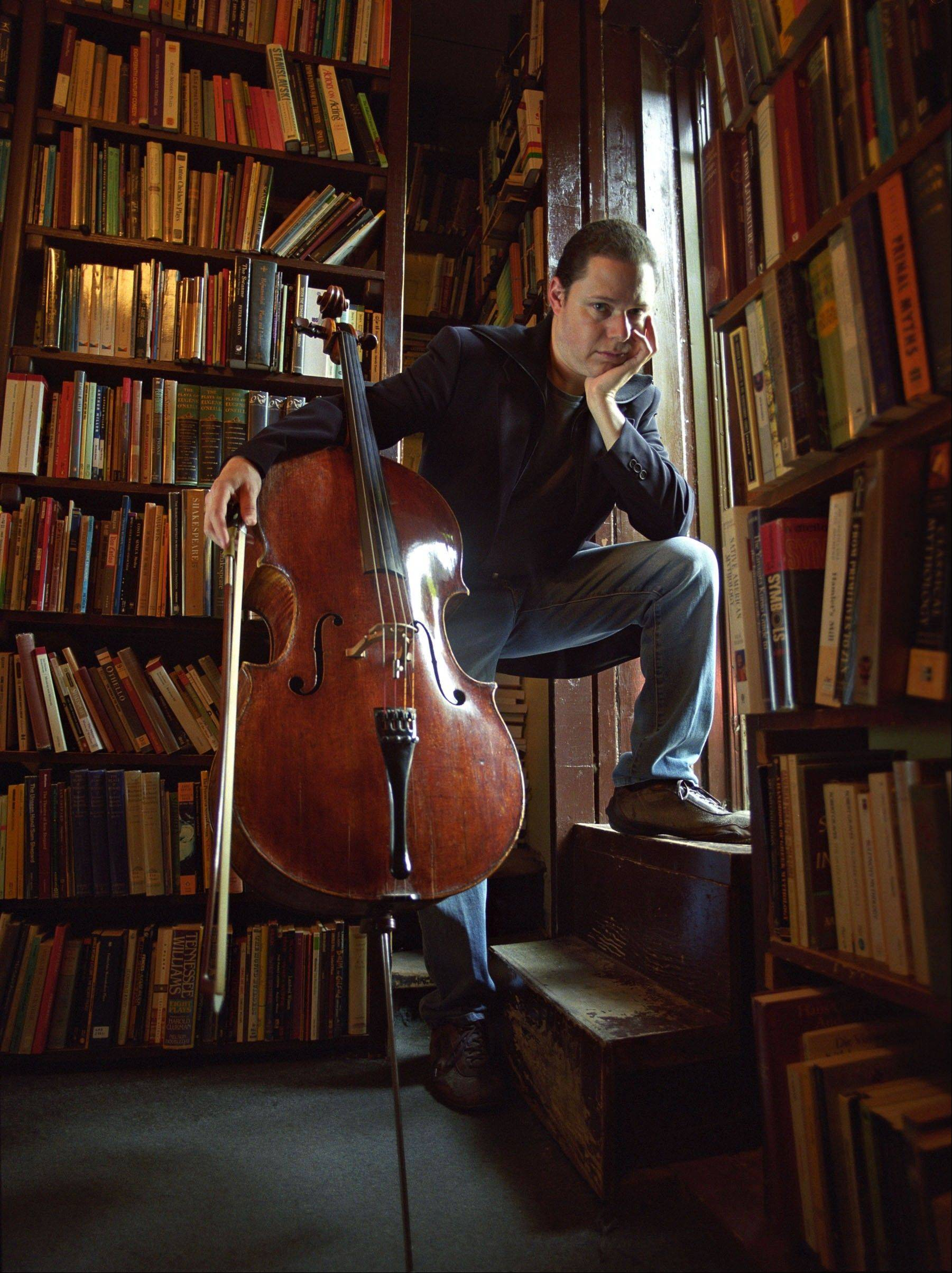 "Cellist Matt Haimovitz will perform with the Elgin Symphony Orchestra for the concert ""One Thousand and One Nights"" at the Hemmens Cultural Center in Elgin."