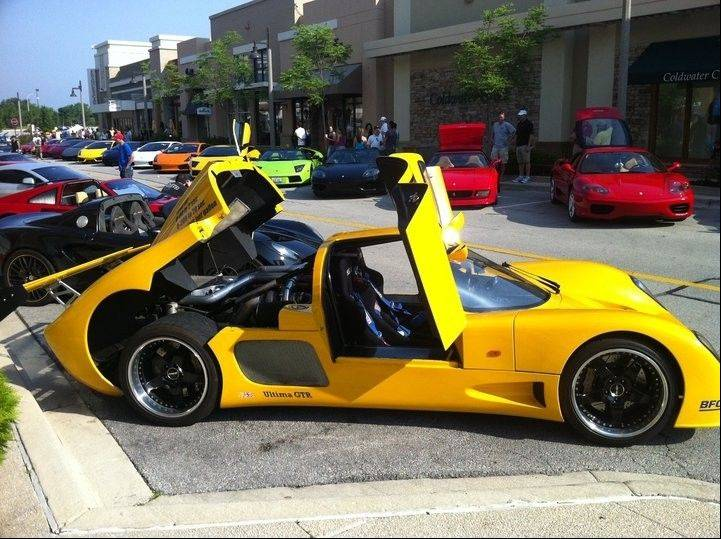 See all kinds of deluxe cars at the Supercar Saturday Car Show at The Promenade Bolingbrook on Saturday, May 5.