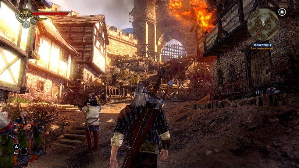 "Be ready to meet and contend with a wonderful array of people and creatures in ""The Witcher 2: Assassins of Kings."""