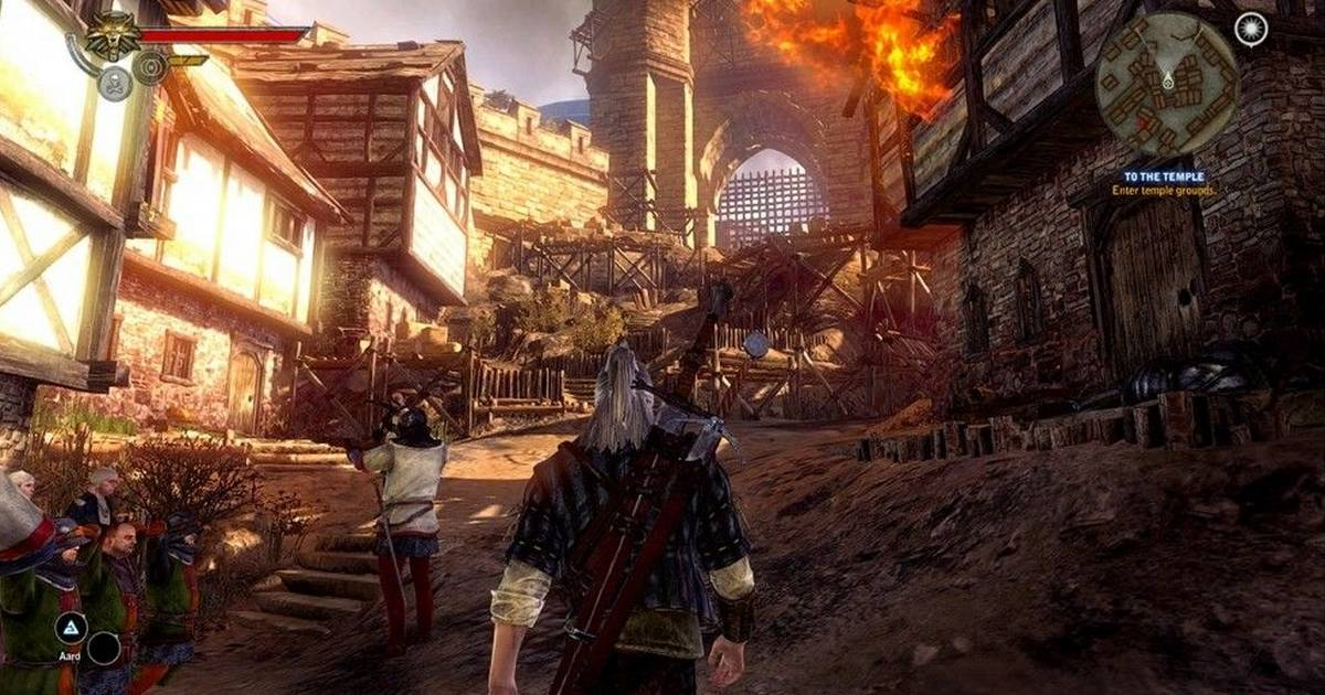 Witcher 2 Casts A Spell On The Xbox 360