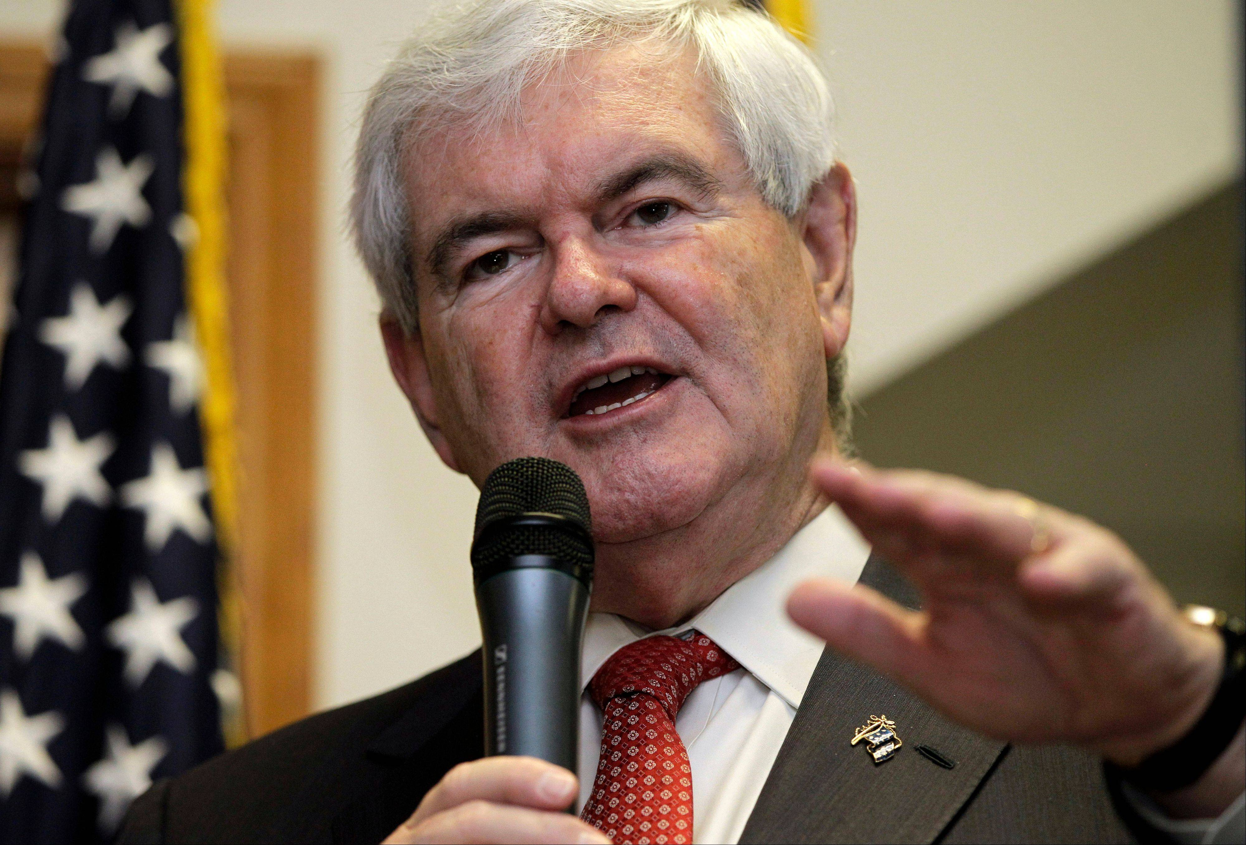 "Republican presidential candidate Newt Gingrich released a video message on his website Tuesday saying he would bring the campaign to a close on Wednesday. The former House speaker said he would continue working to defeat President Barack Obama, whose re-election Gingrich said would be a ""genuine disaster"" for the country."