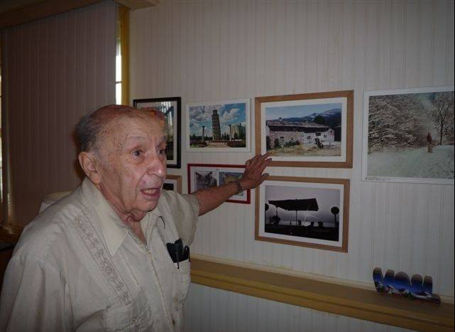 Pointing proudly to a photograph of his father's home back in Italy, Walter Santi can't even say the name of his birthplace without raising eyebrows. He was born in Swastika, N.M., which no longer is on the map.