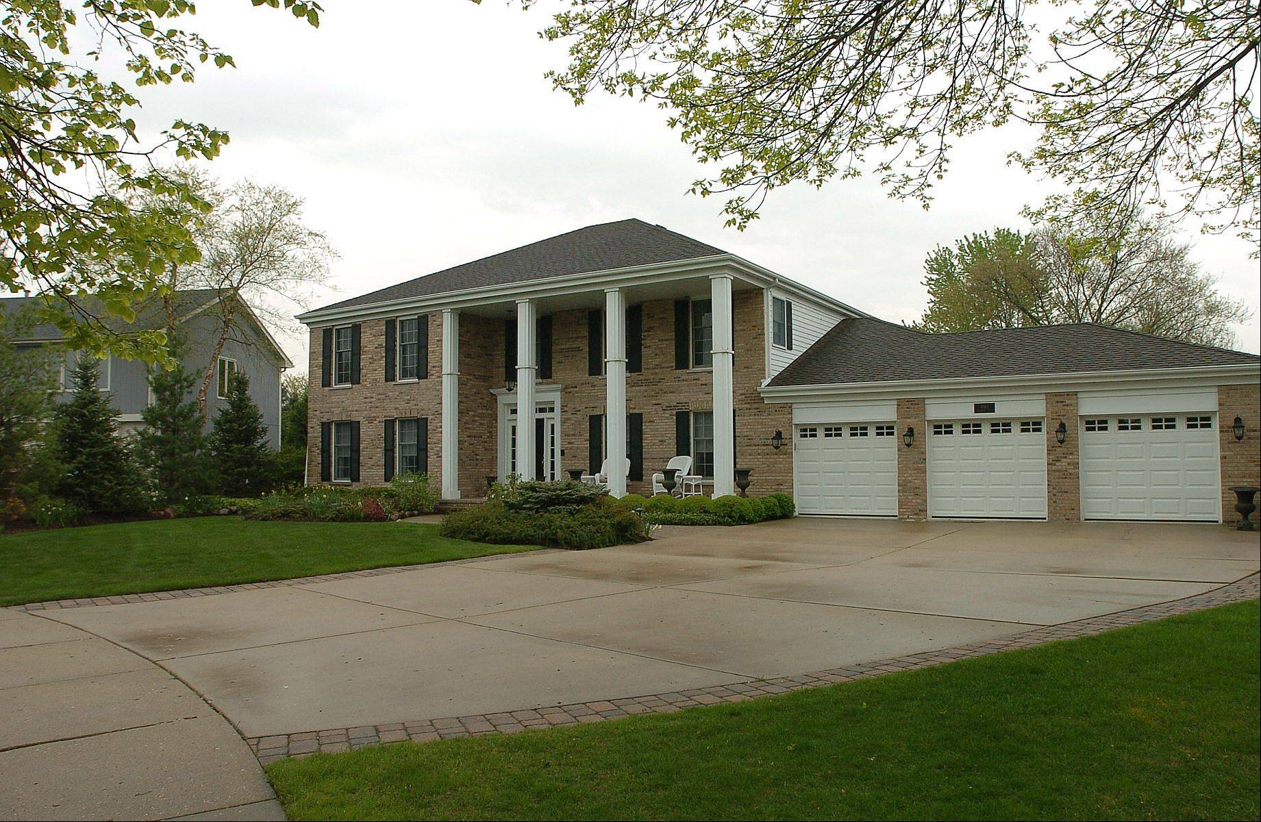 The Evergreen neighborhood in Hoffman Estates was built by Kennedy Builders about 24 years ago.