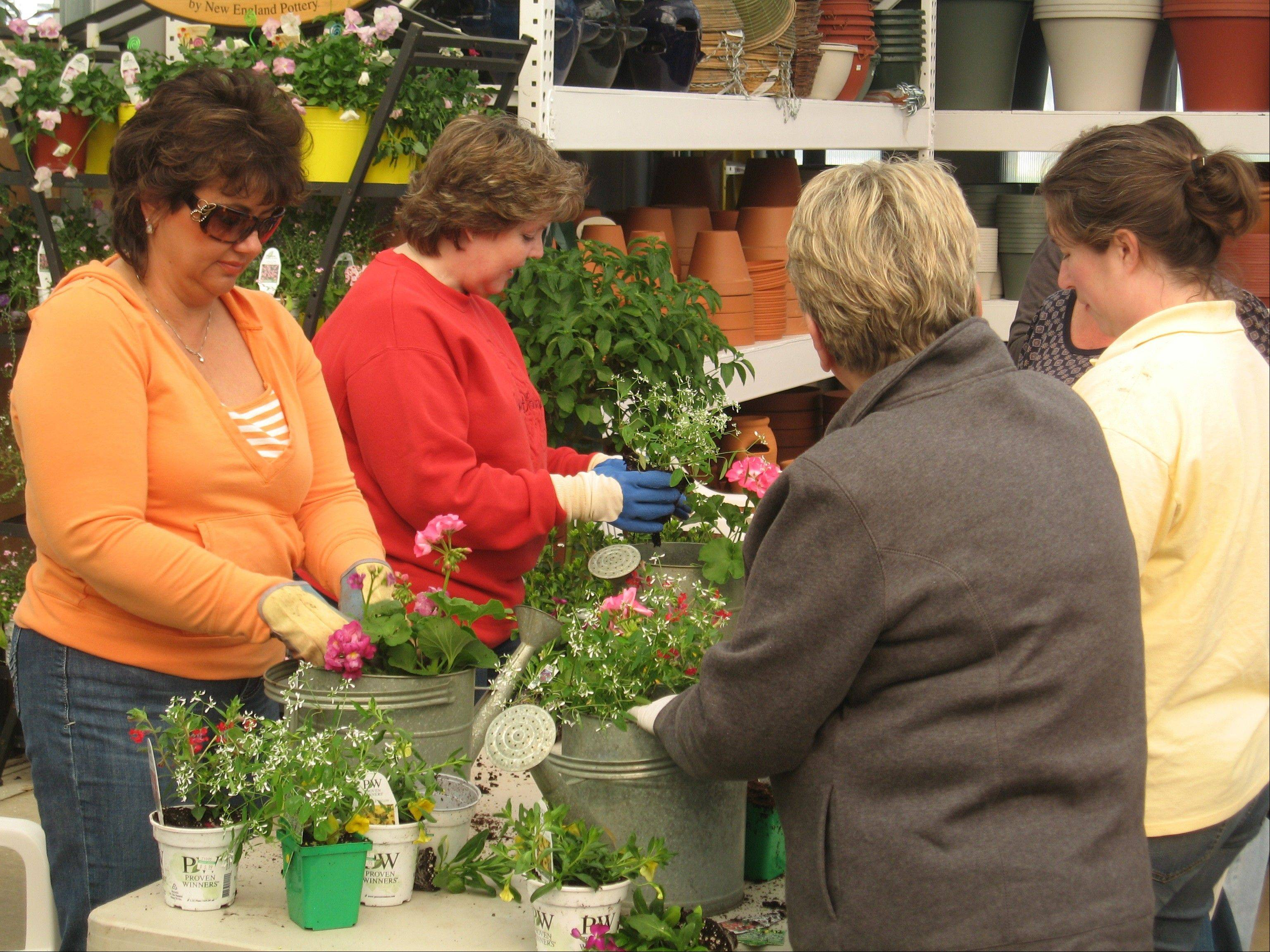 Knupper Nursery conducts gardening classes on Saturdays during the growing season so homeowners get the most out of plants they buy.