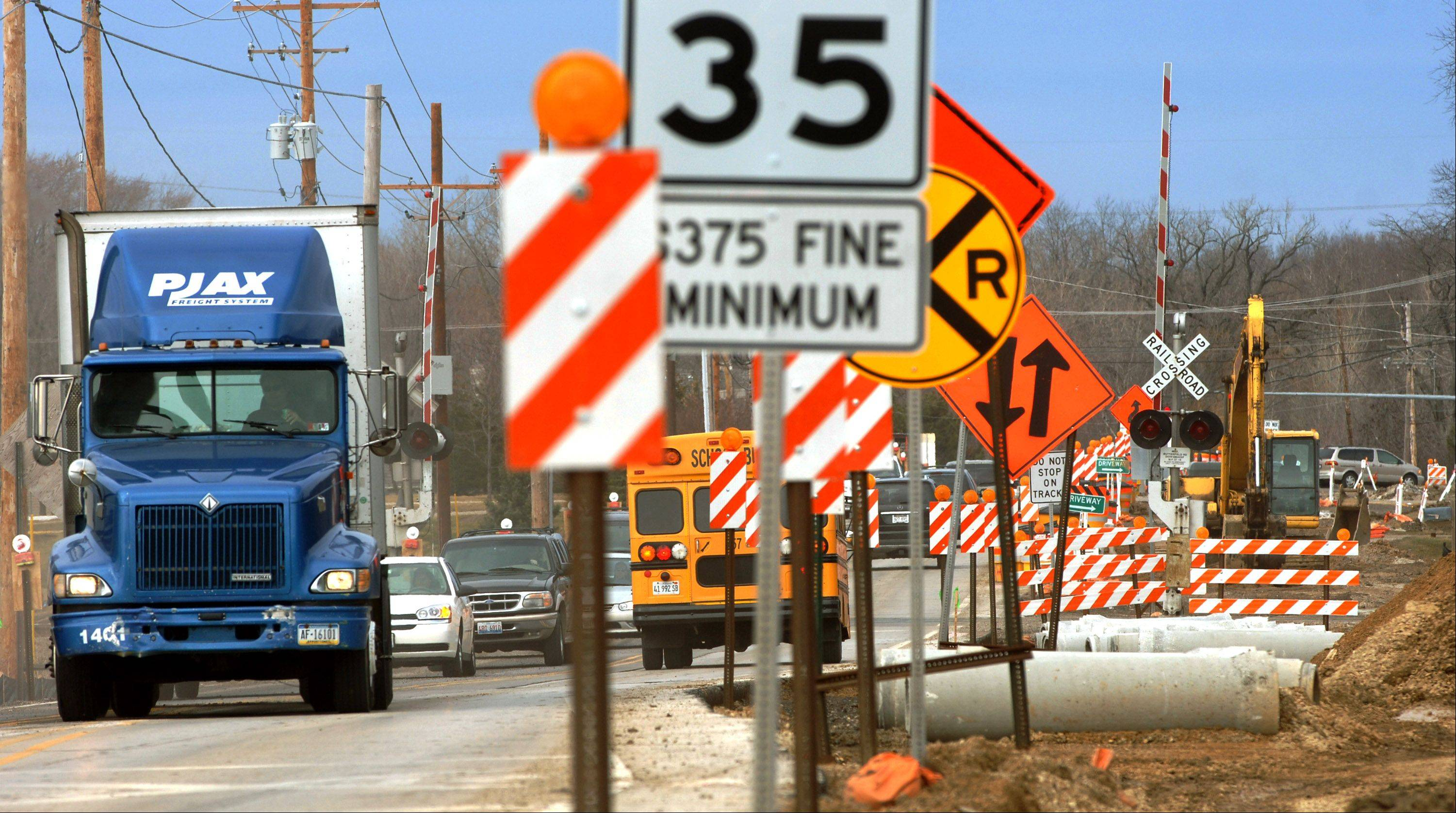 Preparations begin for Libertyville road work blitz