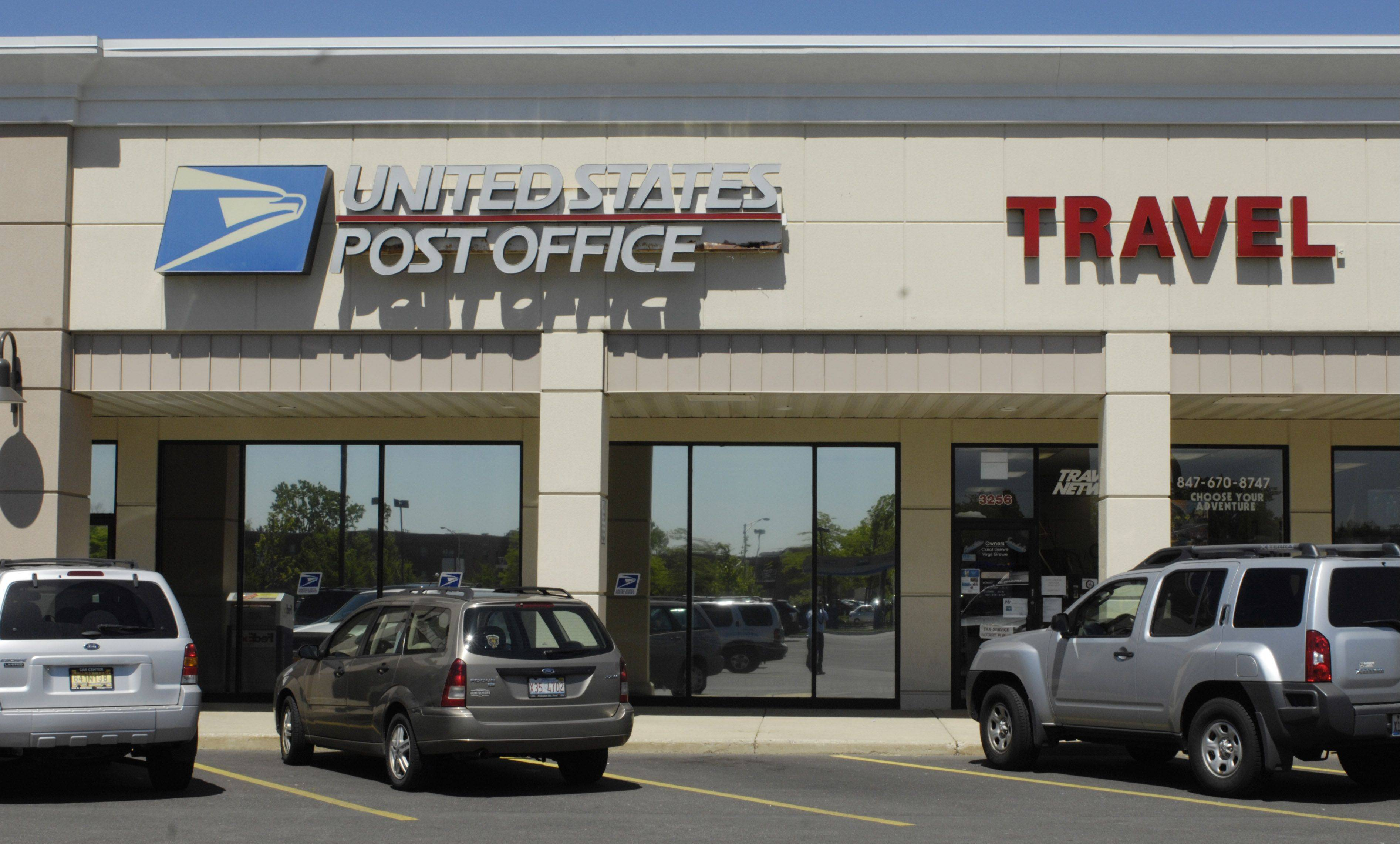 Carol Grewe, president of Travel Network in Rolling Meadows, started a letter-writing campaign in an effort to convince officials not to close the Rolling Meadows Post Office, which is next to her business.