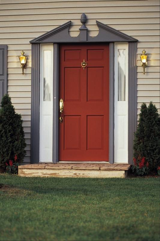 How To Replace Front Door With Sidelights
