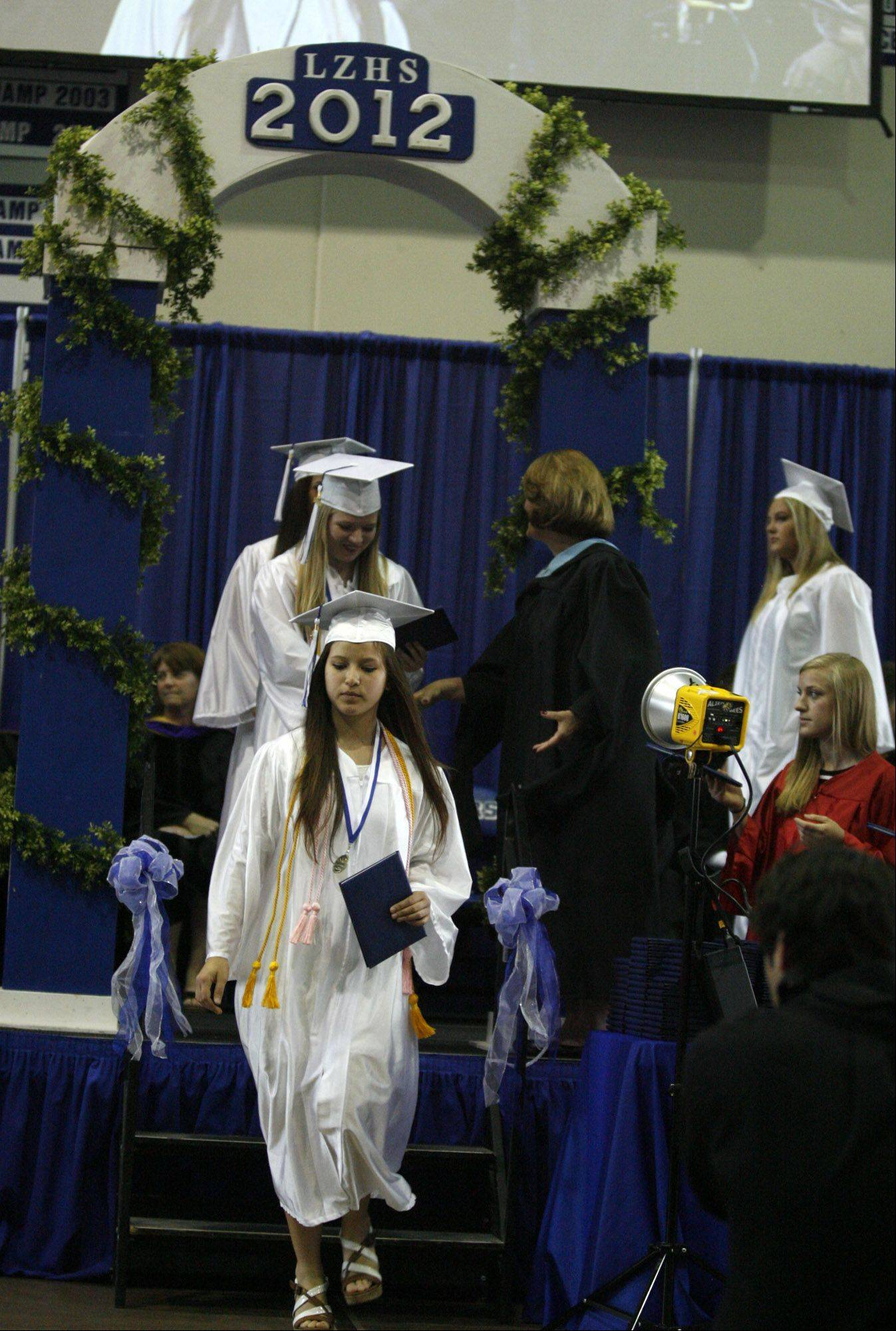 Images from the Lake Zurich High School graduation on Saturday, May 26, in Lake Zurich.