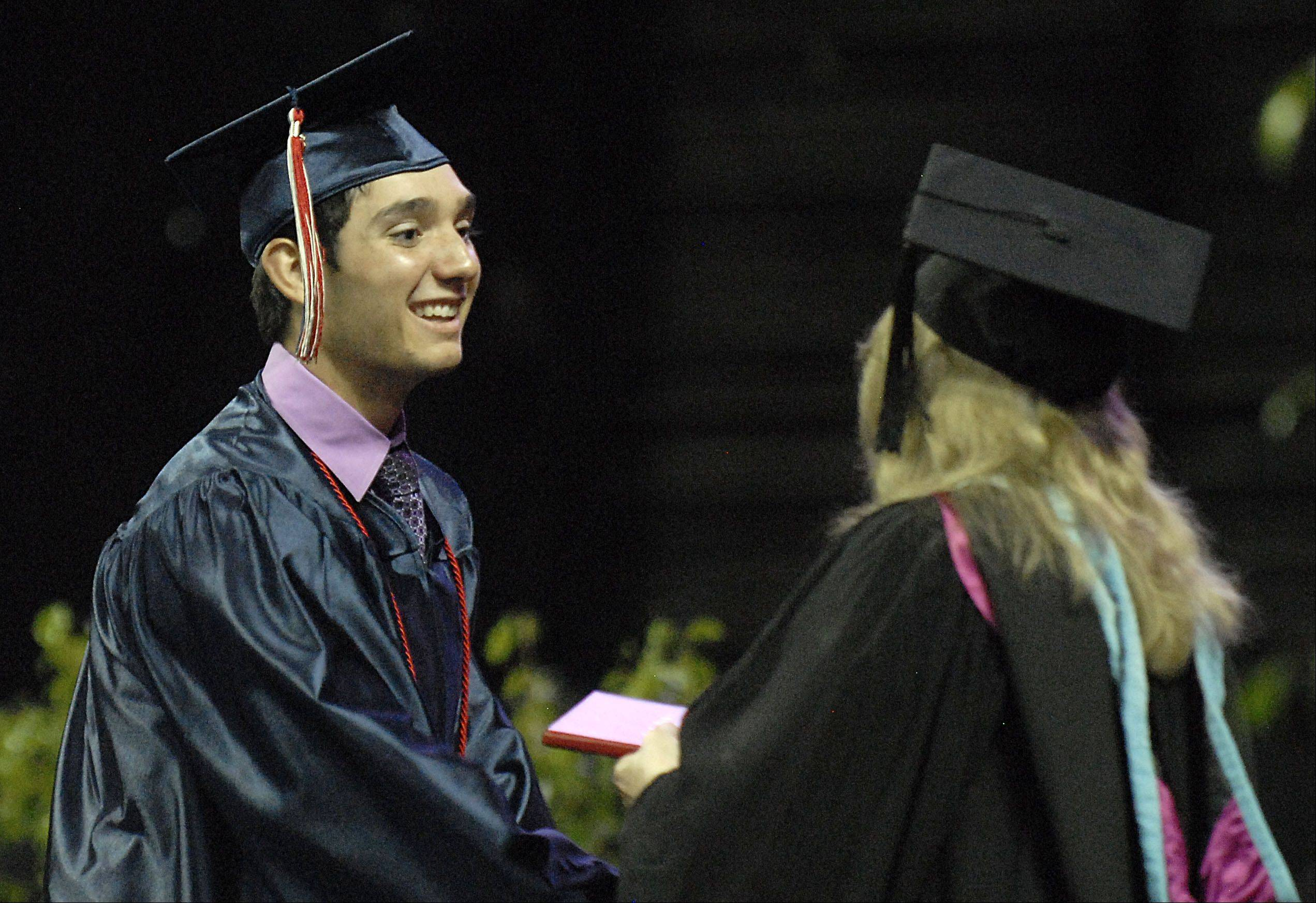 Images from the South Elgin High School graduation Saturday, May 26, 2012 at the Sears Centre in Hoffman Estates.