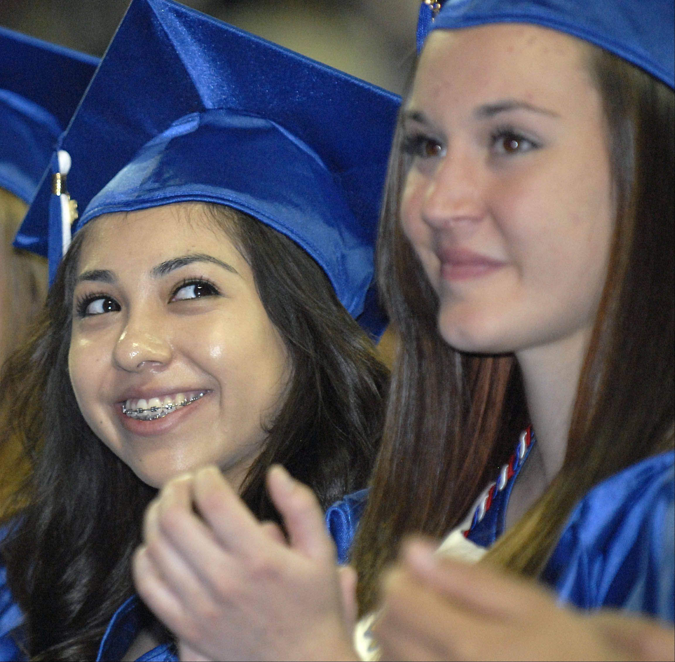 Images from the Larkin High School graduation Saturday, May 26, 2012 at the Sears Centre in Hoffman Estates.
