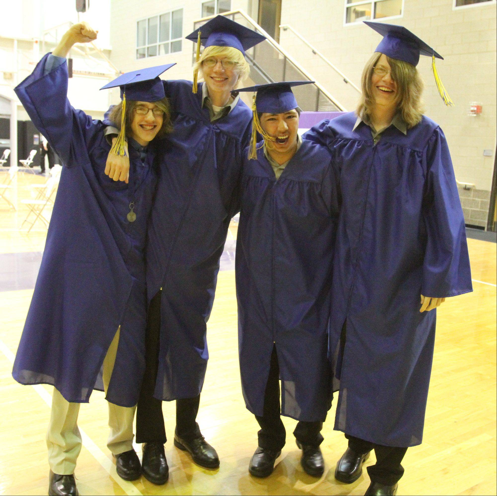 Images from the Warren Township High School graduation on Saturday, May 26 in Evanston.