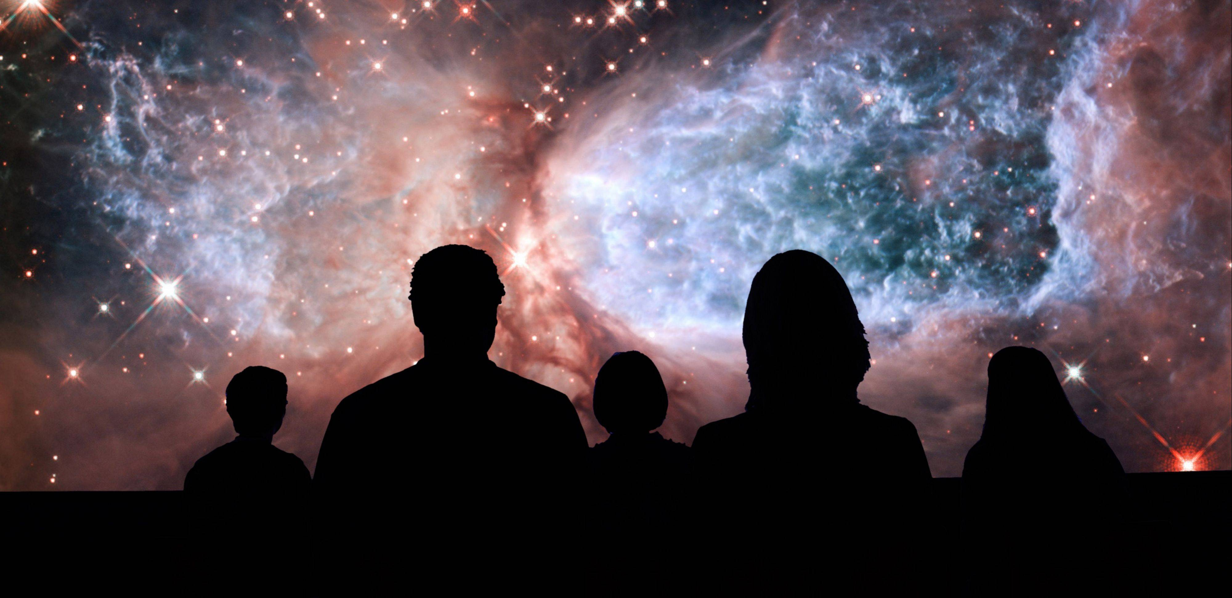 "Travel a billion light years and back during the new sky show, ""Welcome to the Universe,"" at the Adler Planetarium."