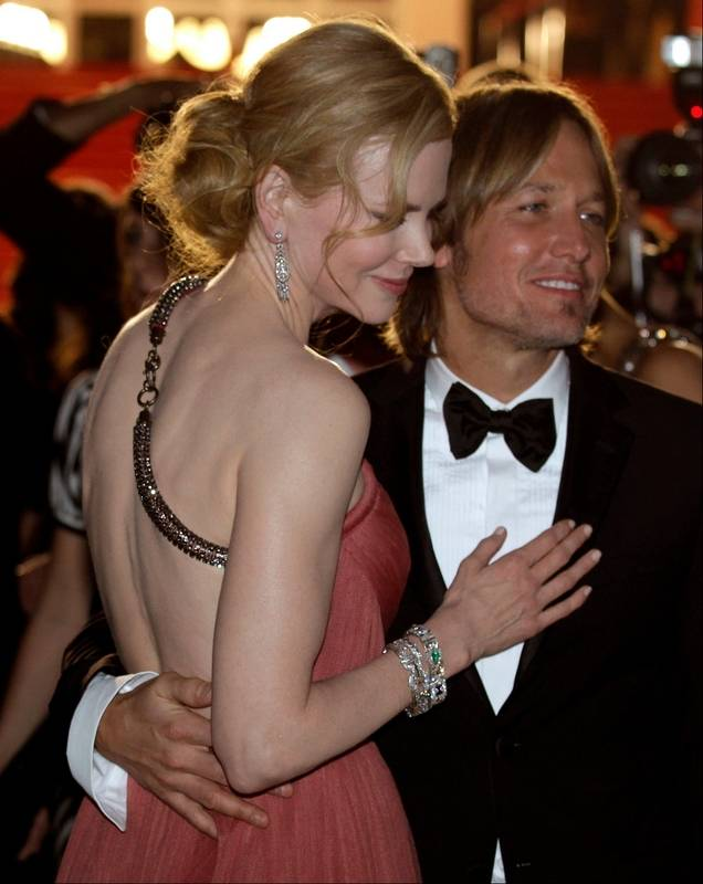 Actress Nicole Kidman Left And Musician Keith Urban Depart Following The Screening Thursday Of
