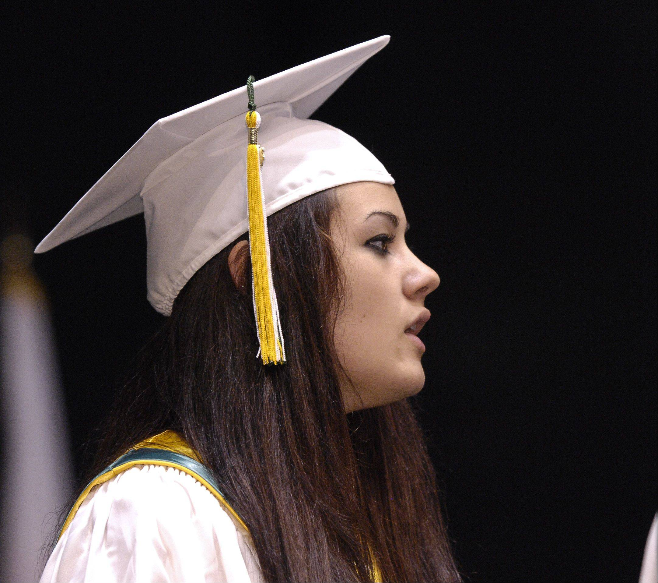 Waubonsie Valley High School held its graduationceremony Sunday in DeKalb at the NIU Convocation Center.