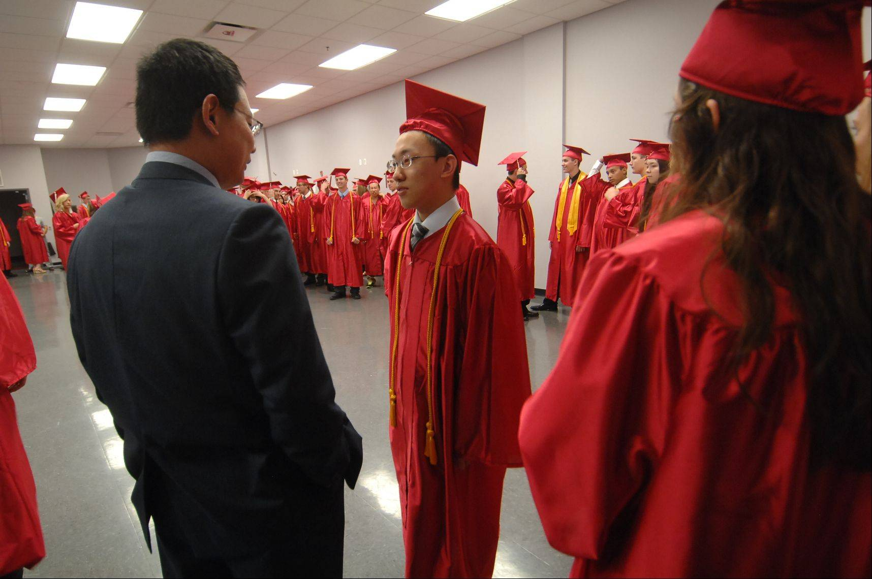 Images from the Aurora Christian High School graduation ceremony Sunday, May 27, 2012.