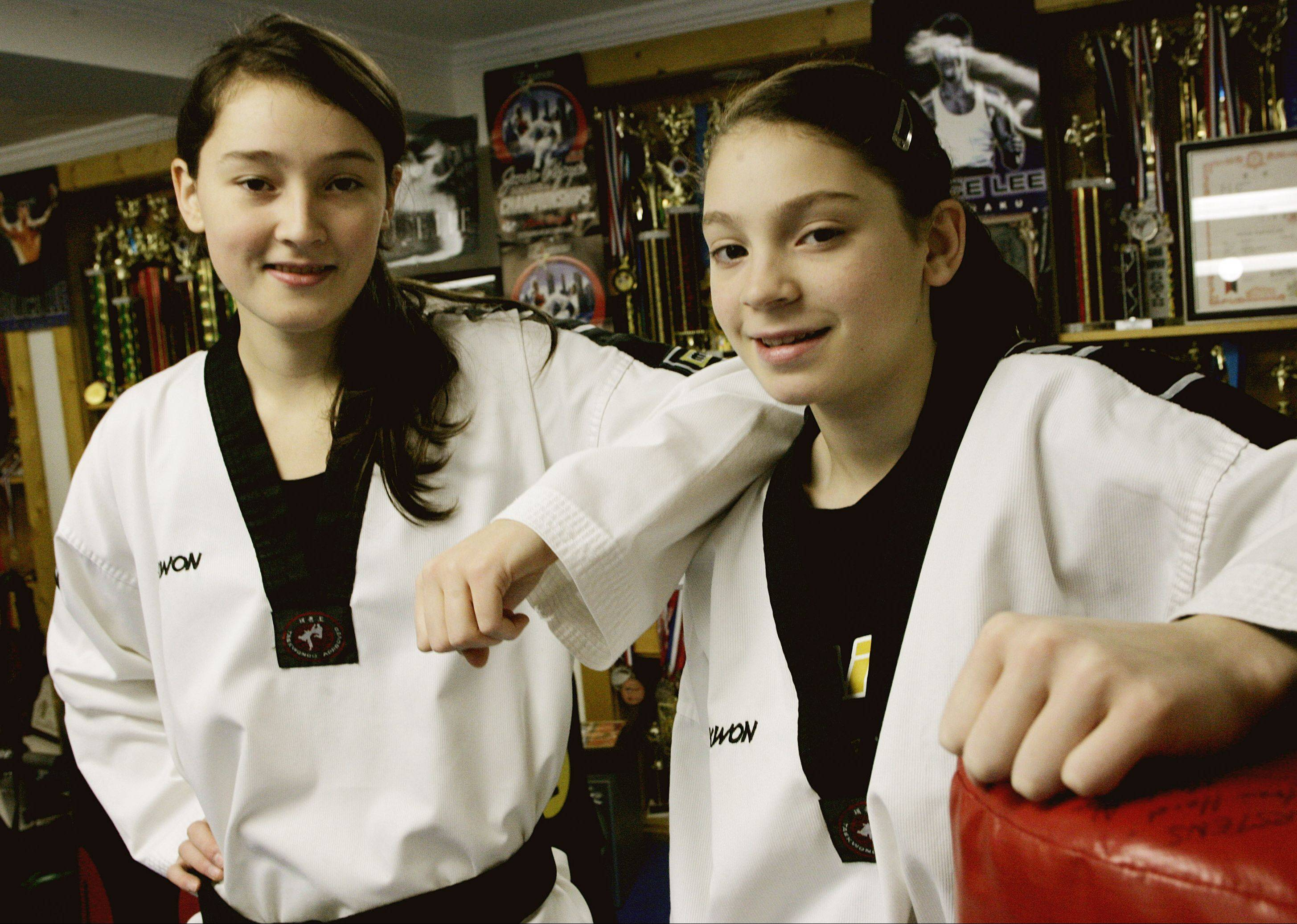 In 2010, the Daily Herald profiled Carolena Carstens, right, and her sister, Christina, both of whom at the time had been named to the Amateur Athletic Union National Taekwondo Team. A year and a half later, Carolena is preparing for competition on the biggest stage of all: the Olympics.