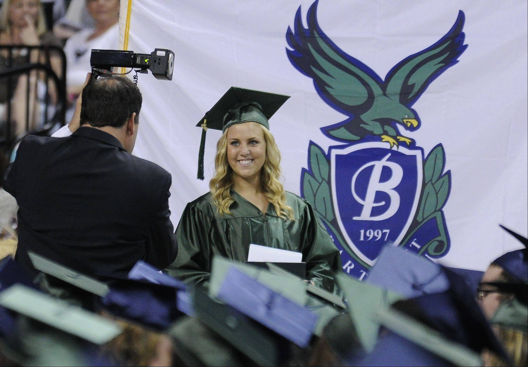 Images from the Bartlett High School graduation on Saturday, May 26th at the Sears Centre in Hoffman Estates.