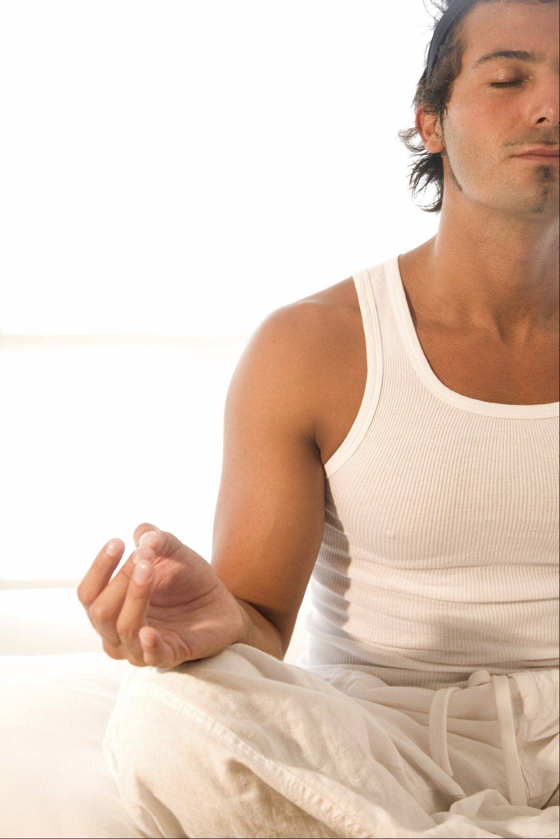 Meditation and a proper diet can help in dealing with stress.