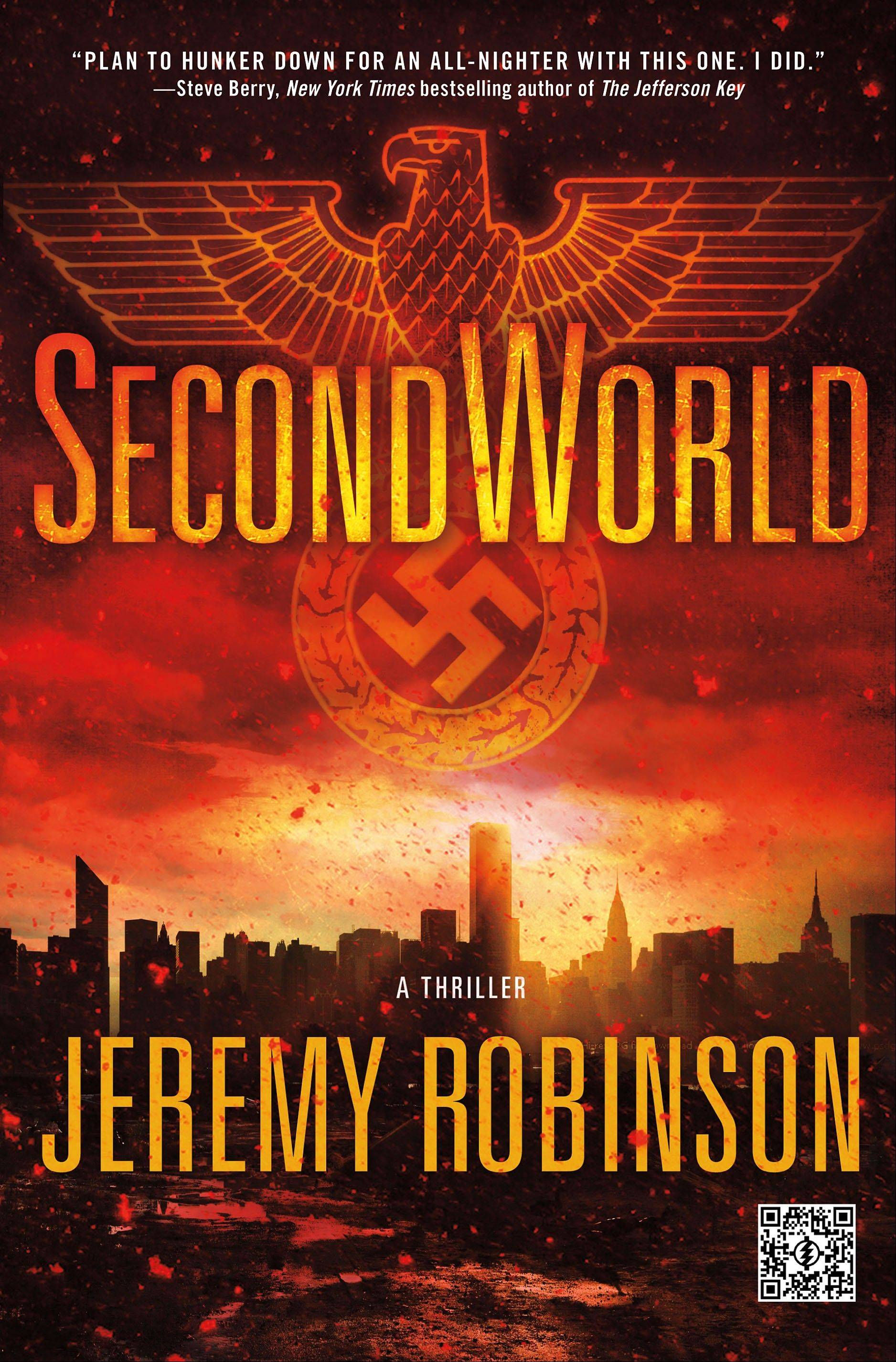 """SecondWorld"" by Jeremy Robinson"