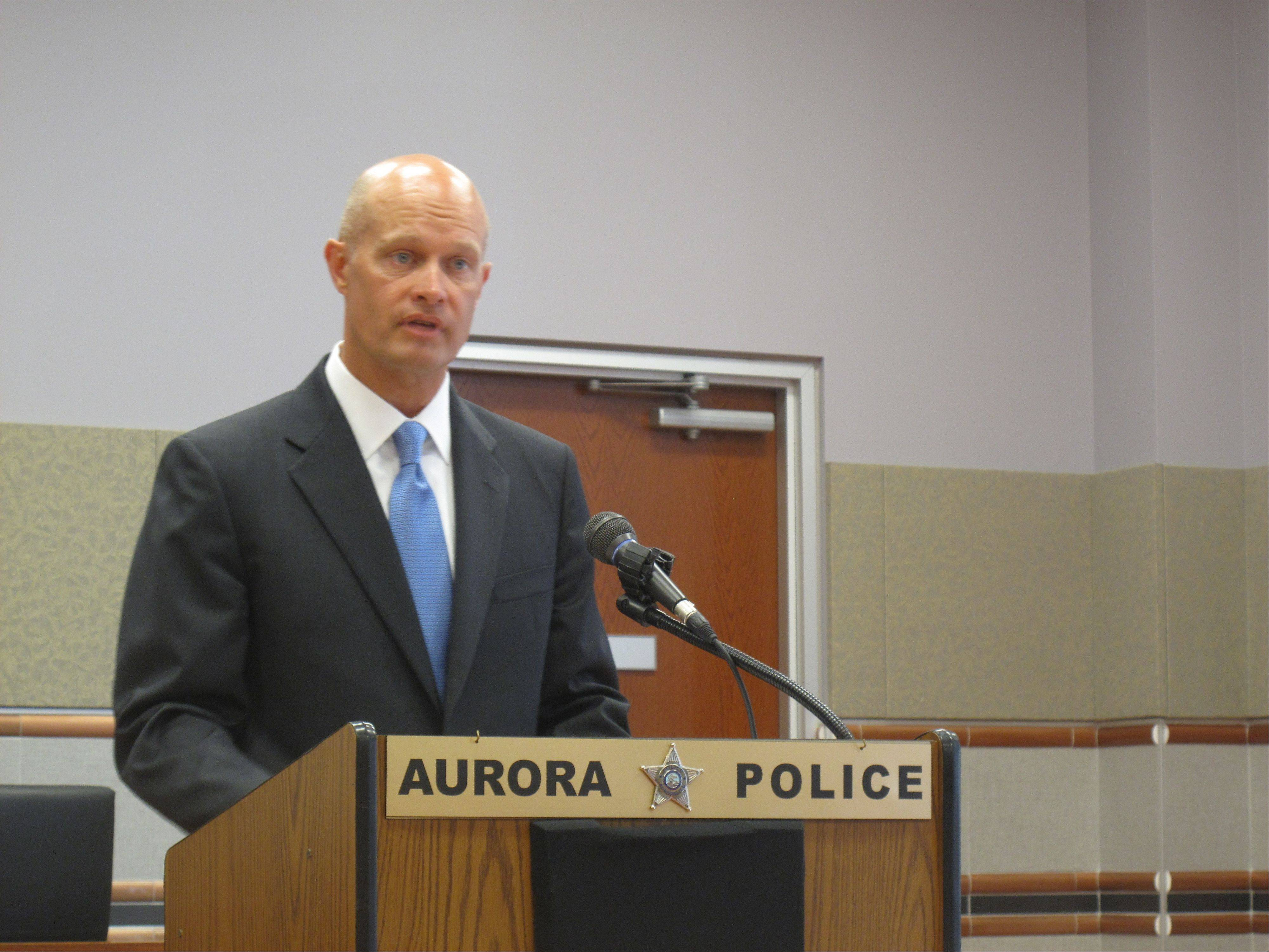 Kane County State's Attorney Joe McMahon says the lawsuit filed against 35 members of the Latin Kings street gang living in Aurora gives law enforcement another tool to discourage violent gang activity.