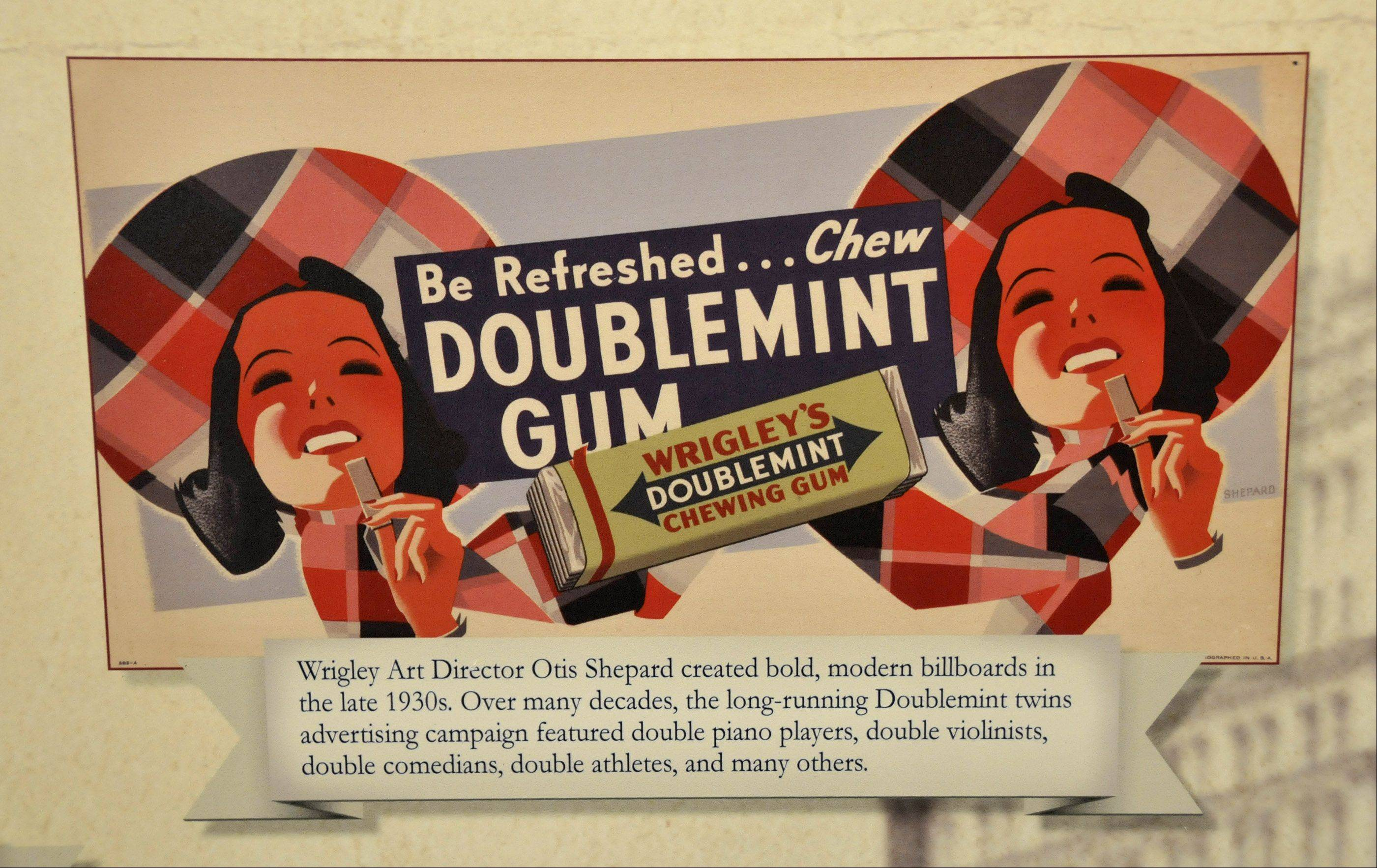 This advertisement is for one of Wrigley's favorite gum flavors.