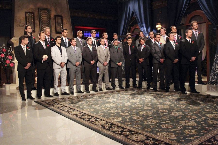 "The 25 contestants on this season's ""Bachelorette."""