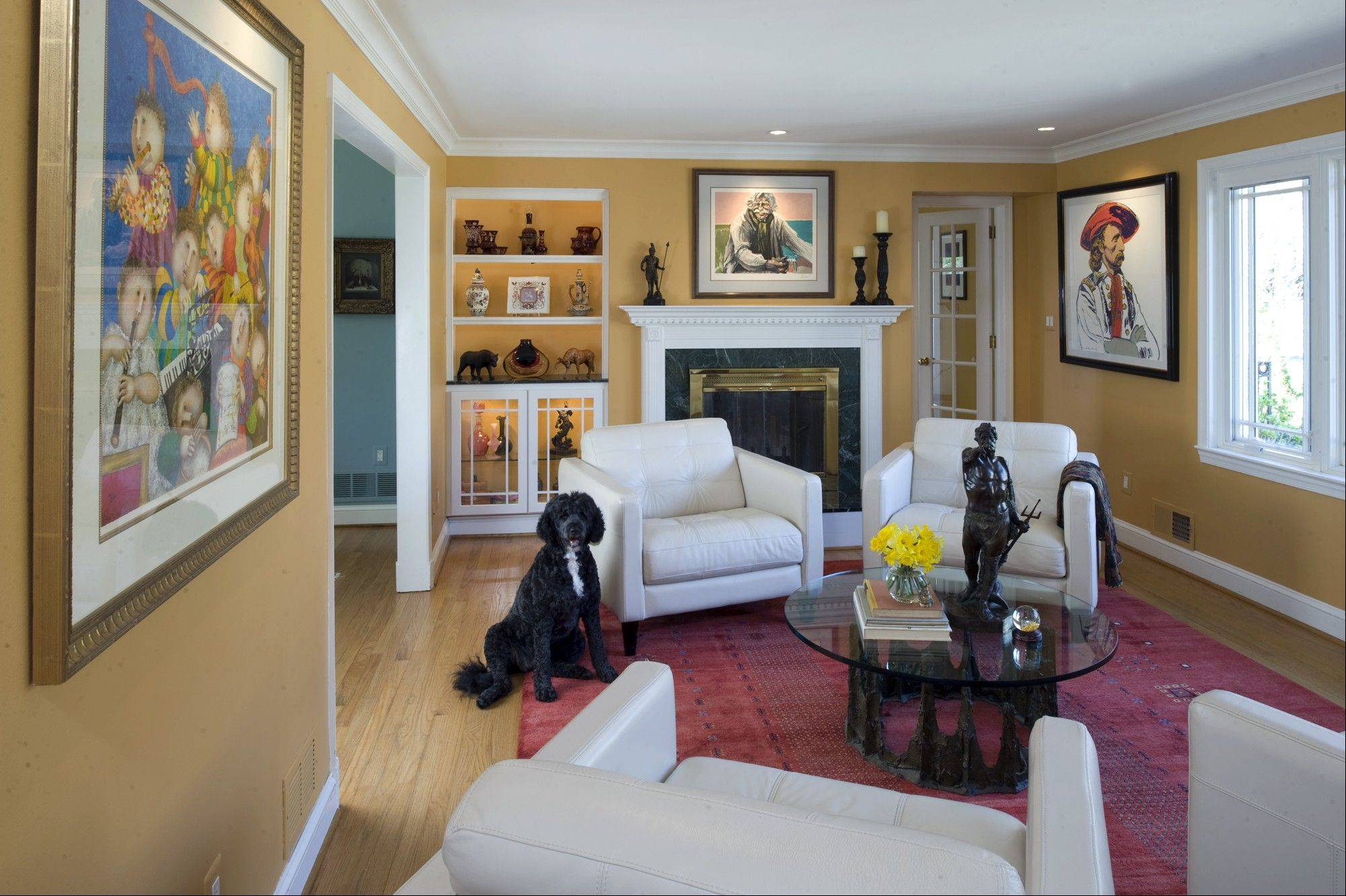 Merveilleux Color Consultant Jean Molesworth Kee Used C2u0027s Delicata In The Living Room  Of A Clientu0027s Home