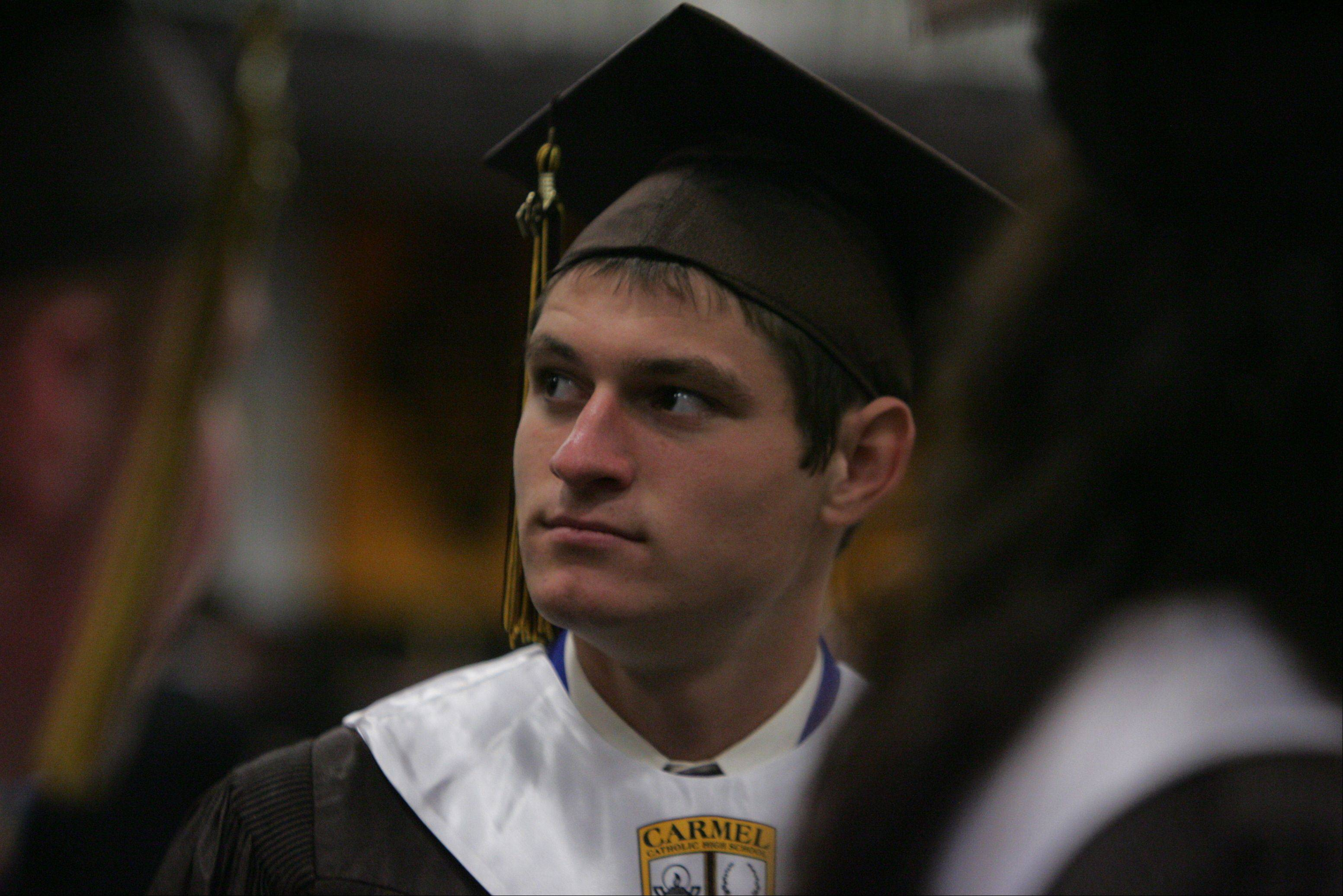 Images from the Carmel Catholic High School graduation on Thursday, May 31 in Mundelein.
