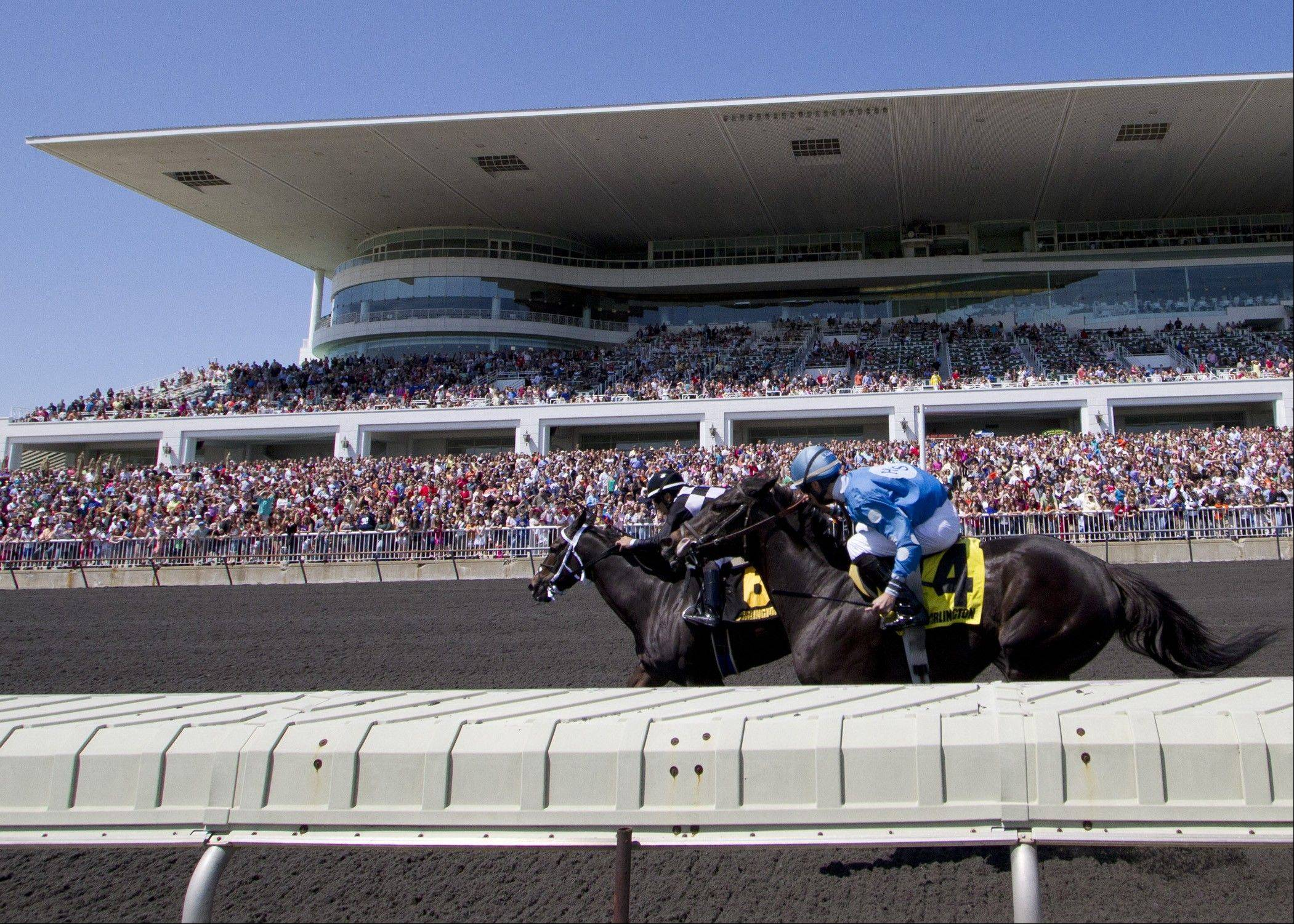 Arlington would keep slots, grandstand separate
