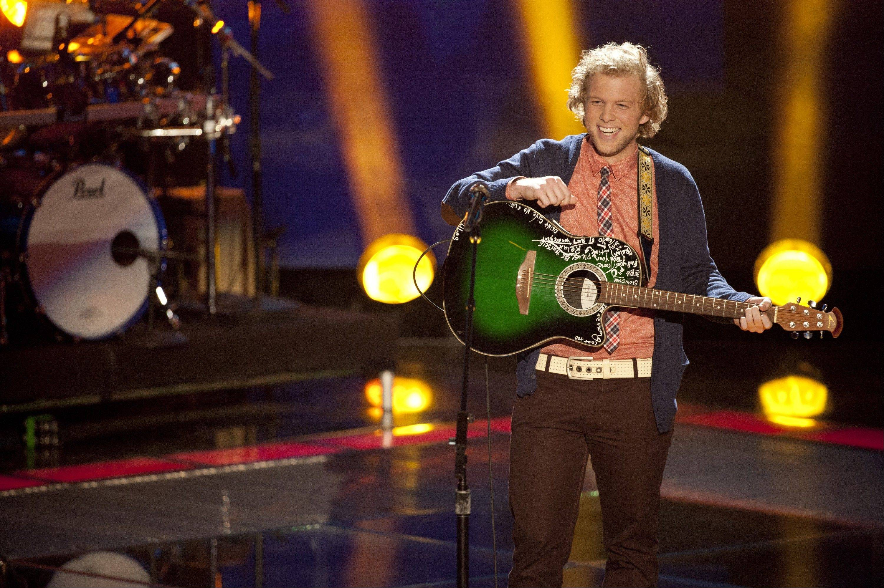 "Jamie Lono of Vernon Hills competed in the second season of NBC-TV's ""The Voice."""