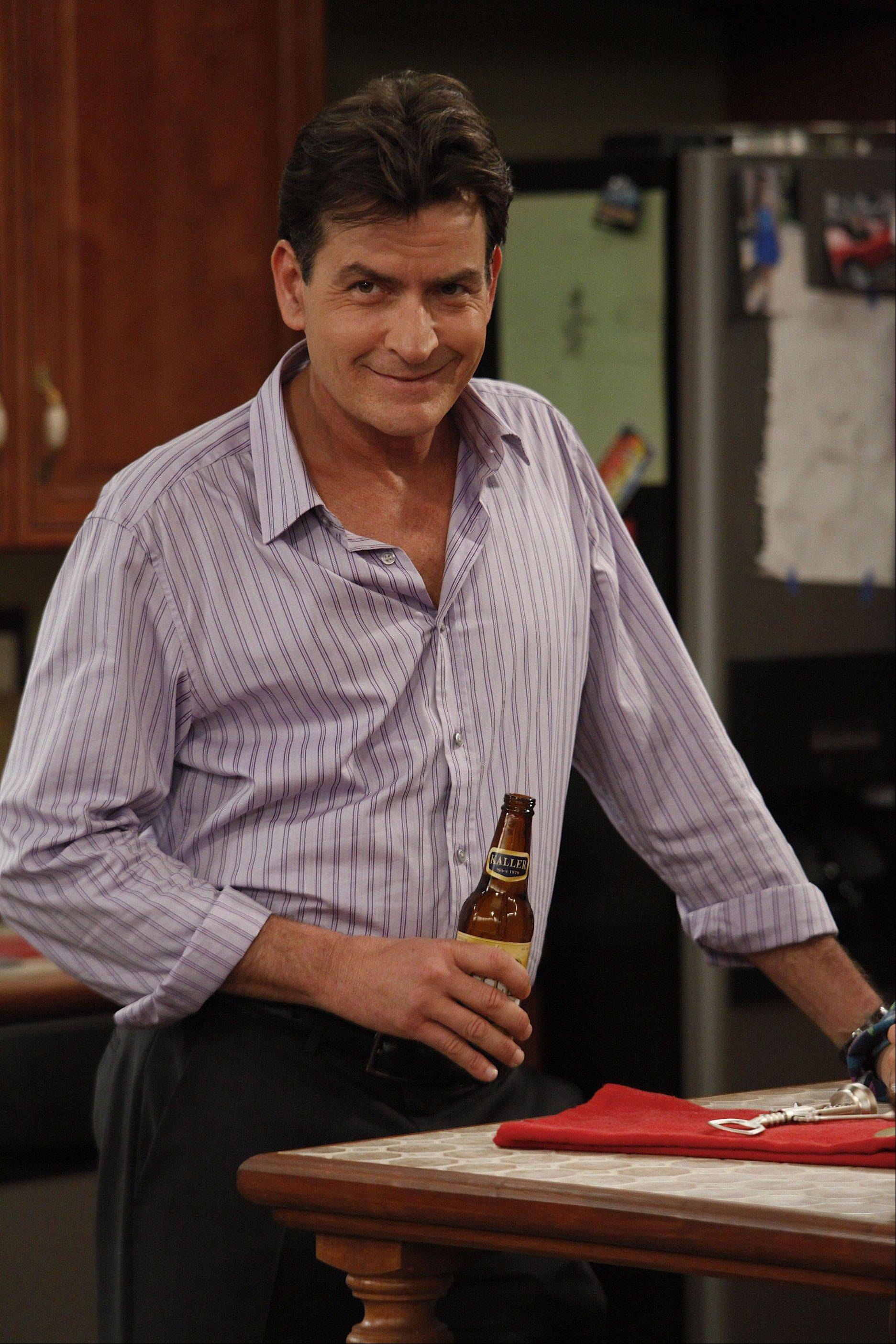 "Charlie Sheen returns to television as an unconventional therapist in FX's ""Anger Management."""