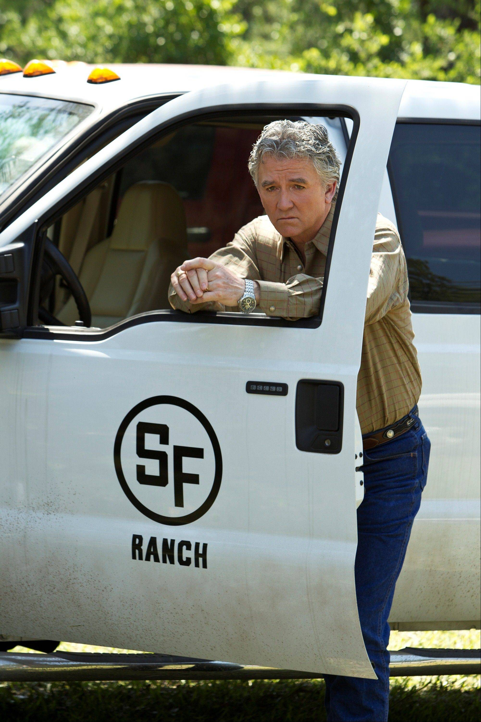 "Bobby (Patrick Duffy) is back in the new ""Dallas,"" coming to TNT."