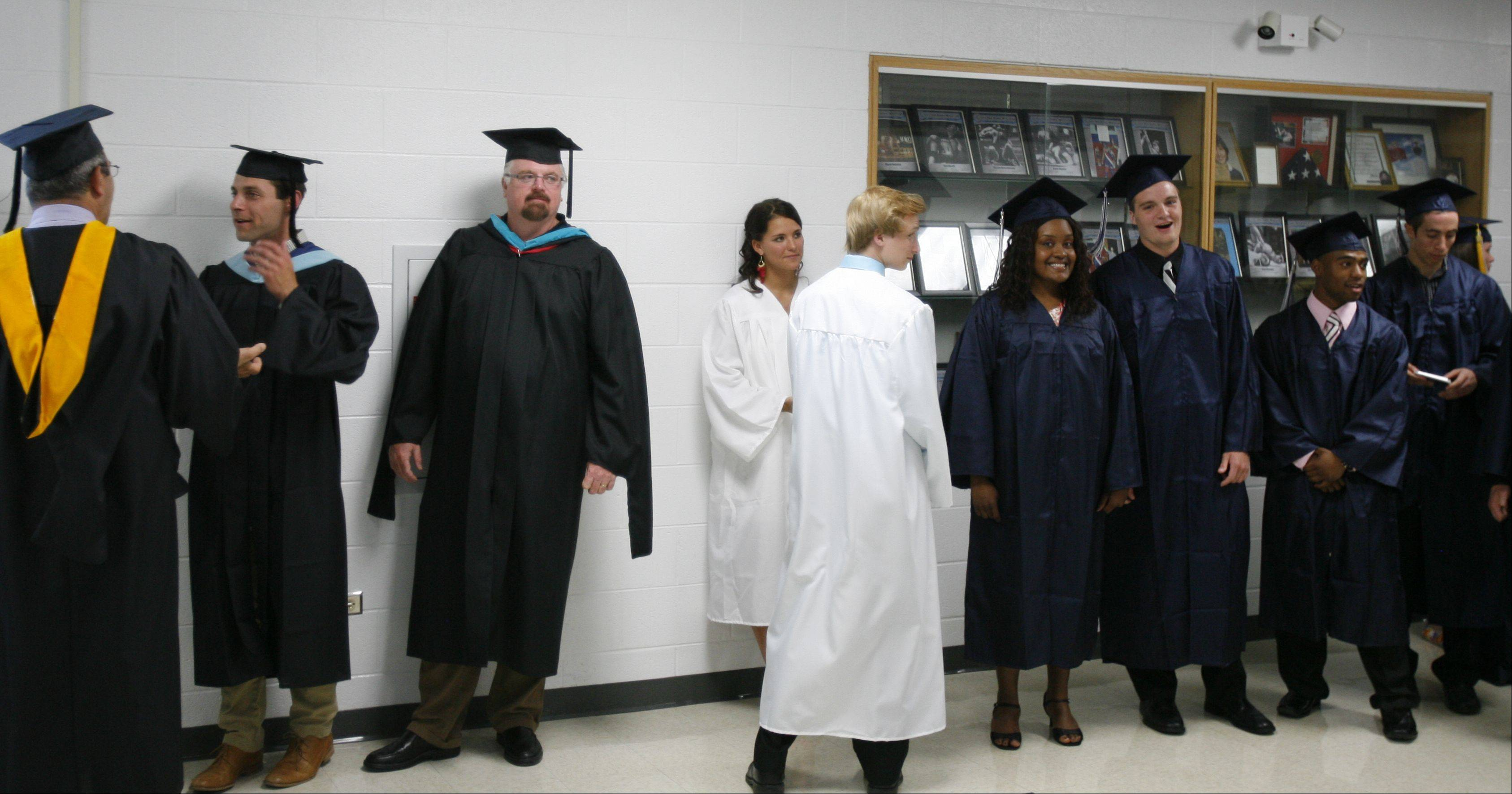 Lisle High School held its graduation ceremony Friday June 1 at Lisle High School.