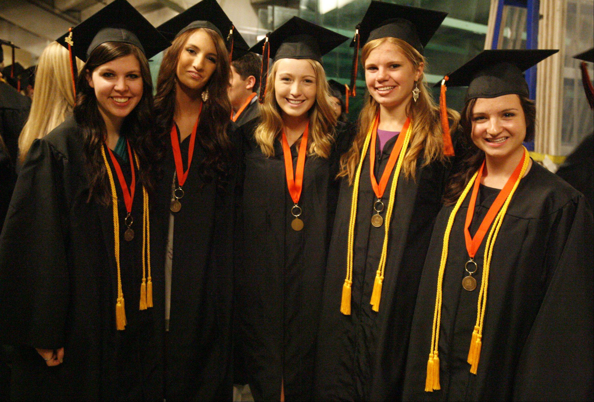 Libertyville High School graduation on Friday, June 1 at the Sears Centre in Hoffman Estates.