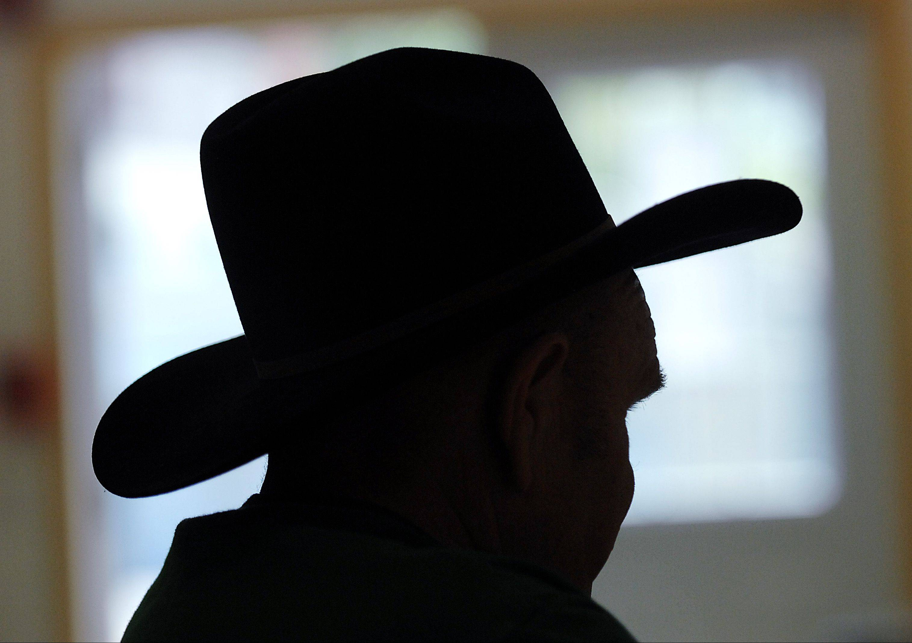 Thompson became known to locals as Cowboy Joe because he was always seen wearing a cowboy hat. These days, he wears other hats as often as his western wear.