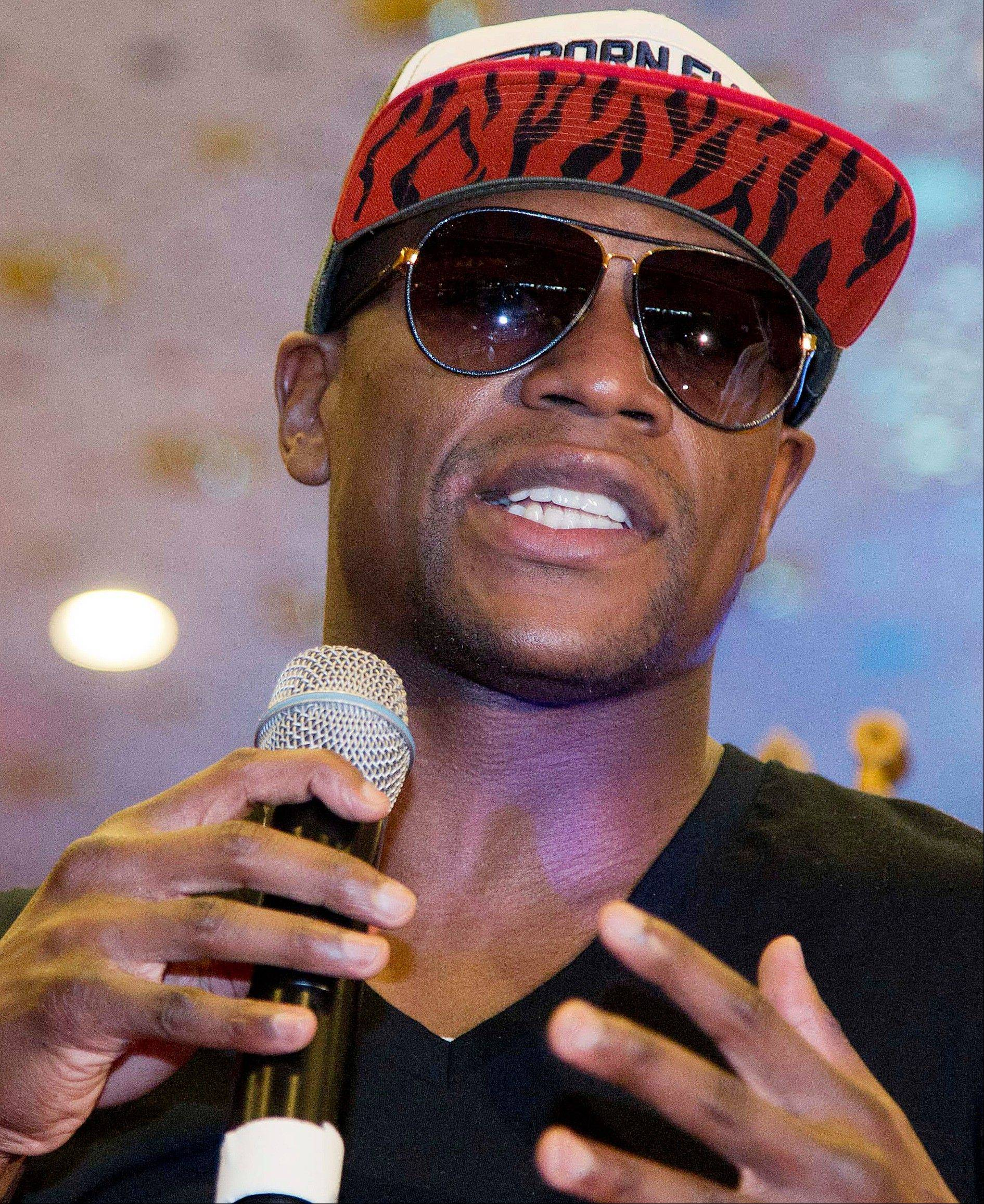 Floyd Mayweather Jr., talk