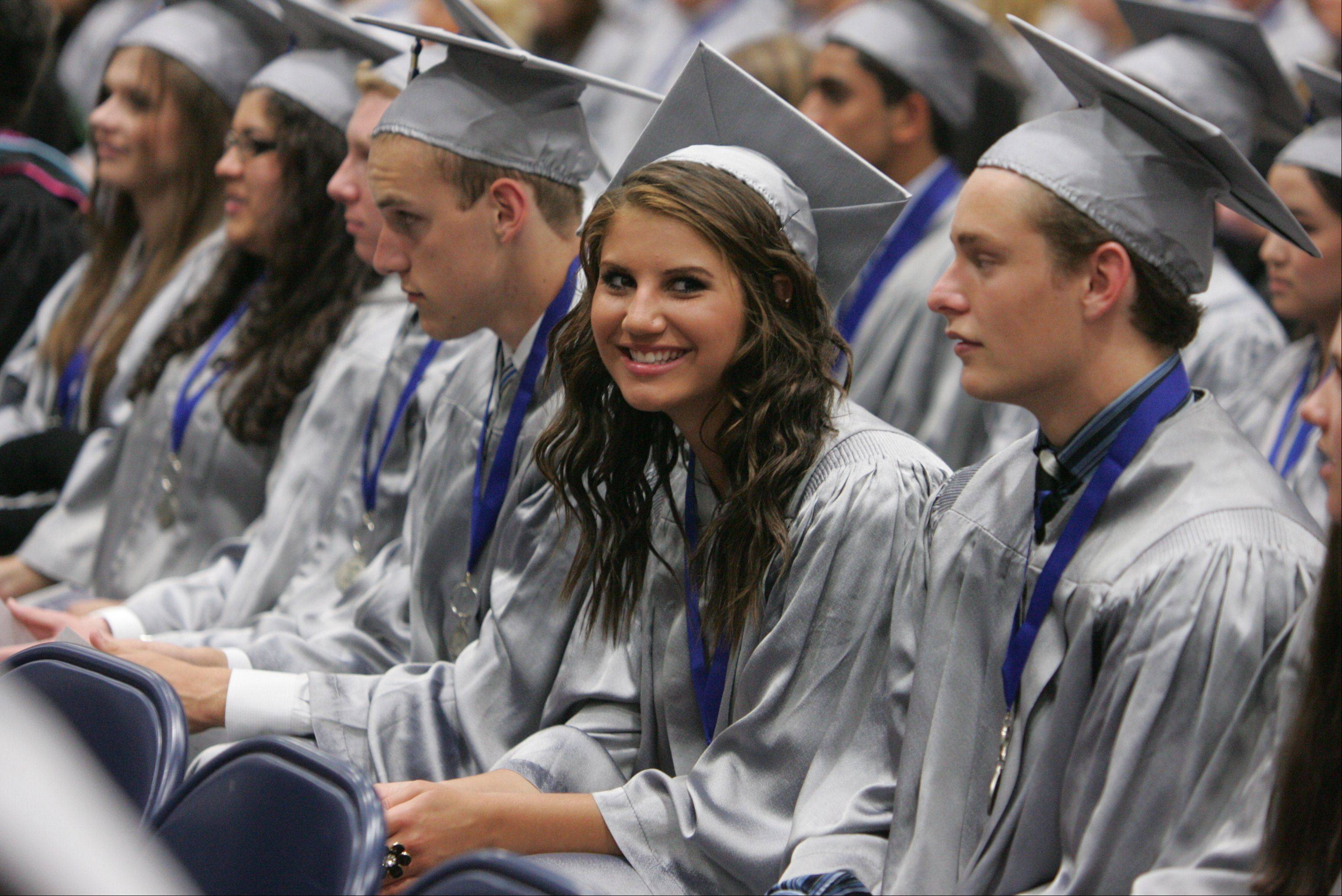 Images from the Vernon Hills High School graduation on Thursday, May 31 in Vernon Hills.