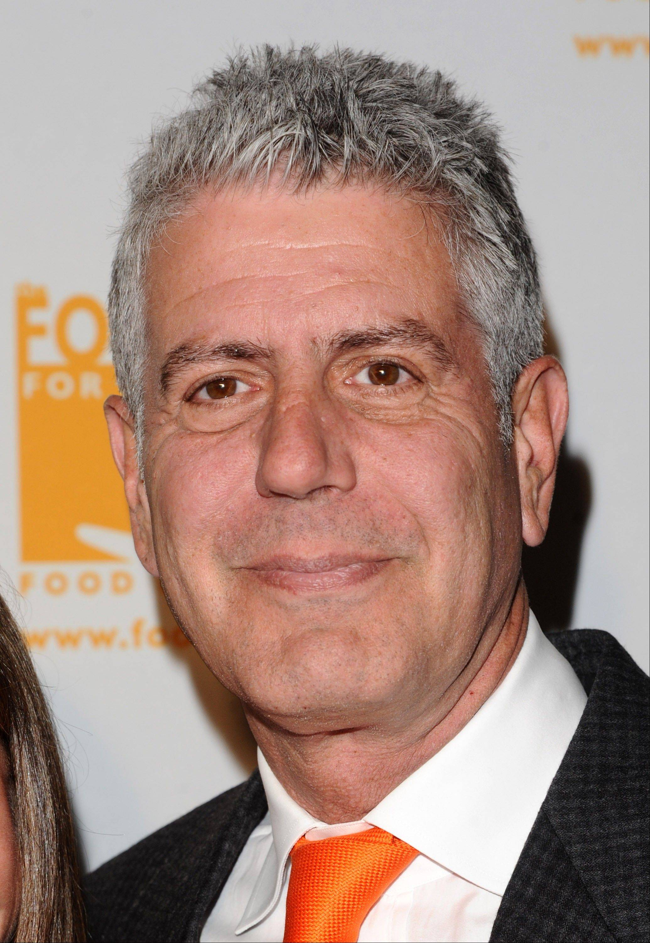 Anthony Bourdain will host a weekend show on food and travel. The series is expected to launch early next year.