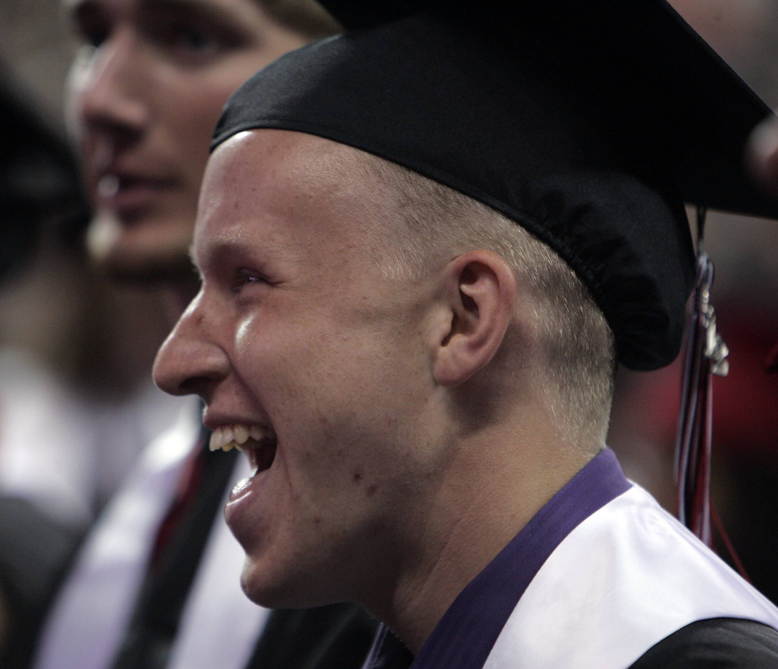 Images from the Huntley High School graduation ceremony at the Sears Centre in Hoffman Estates Saturday, June 2, 2012