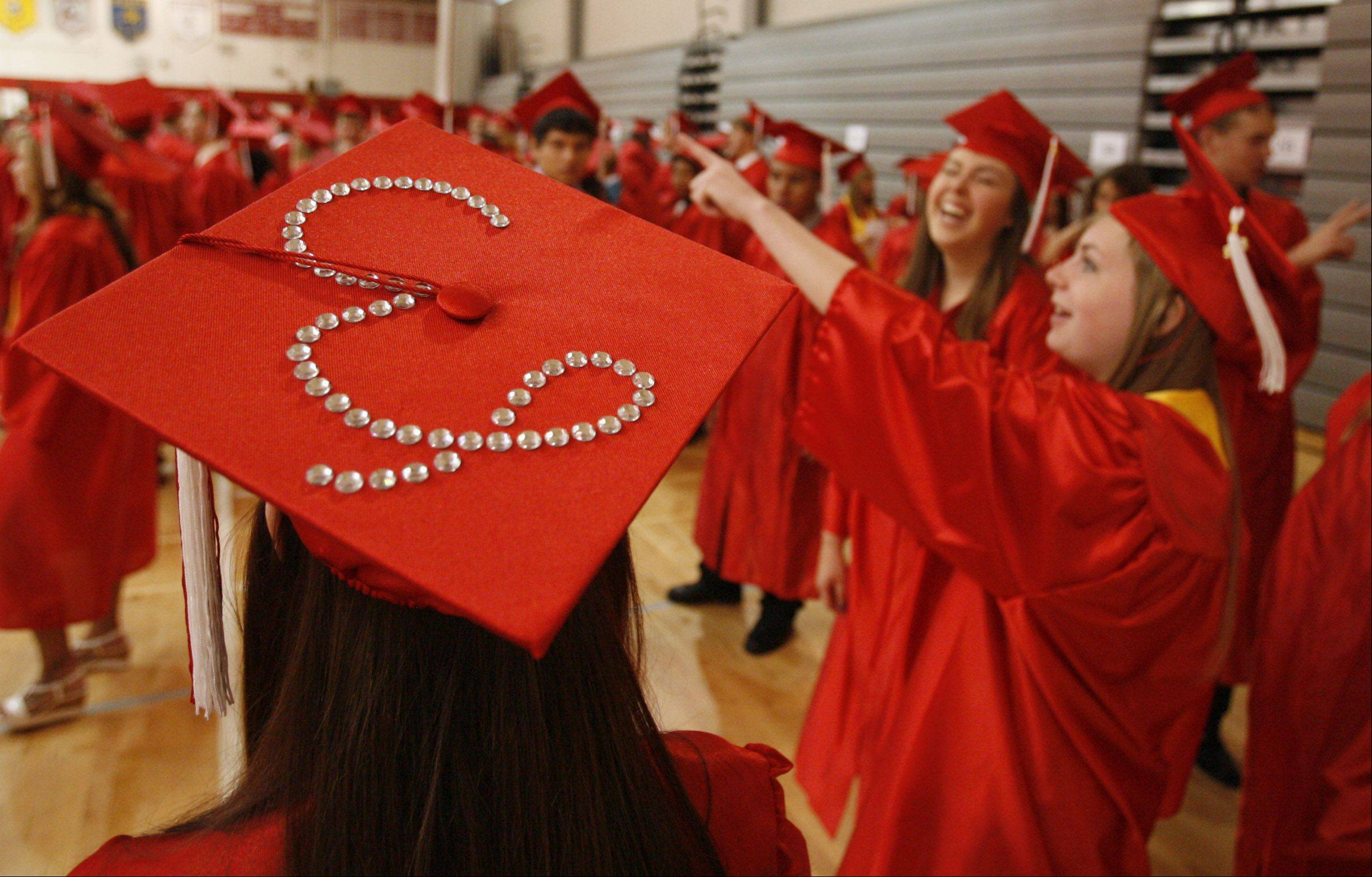 Images from the Grant High School graduation on Saturday, June 2 in Fox Lake.