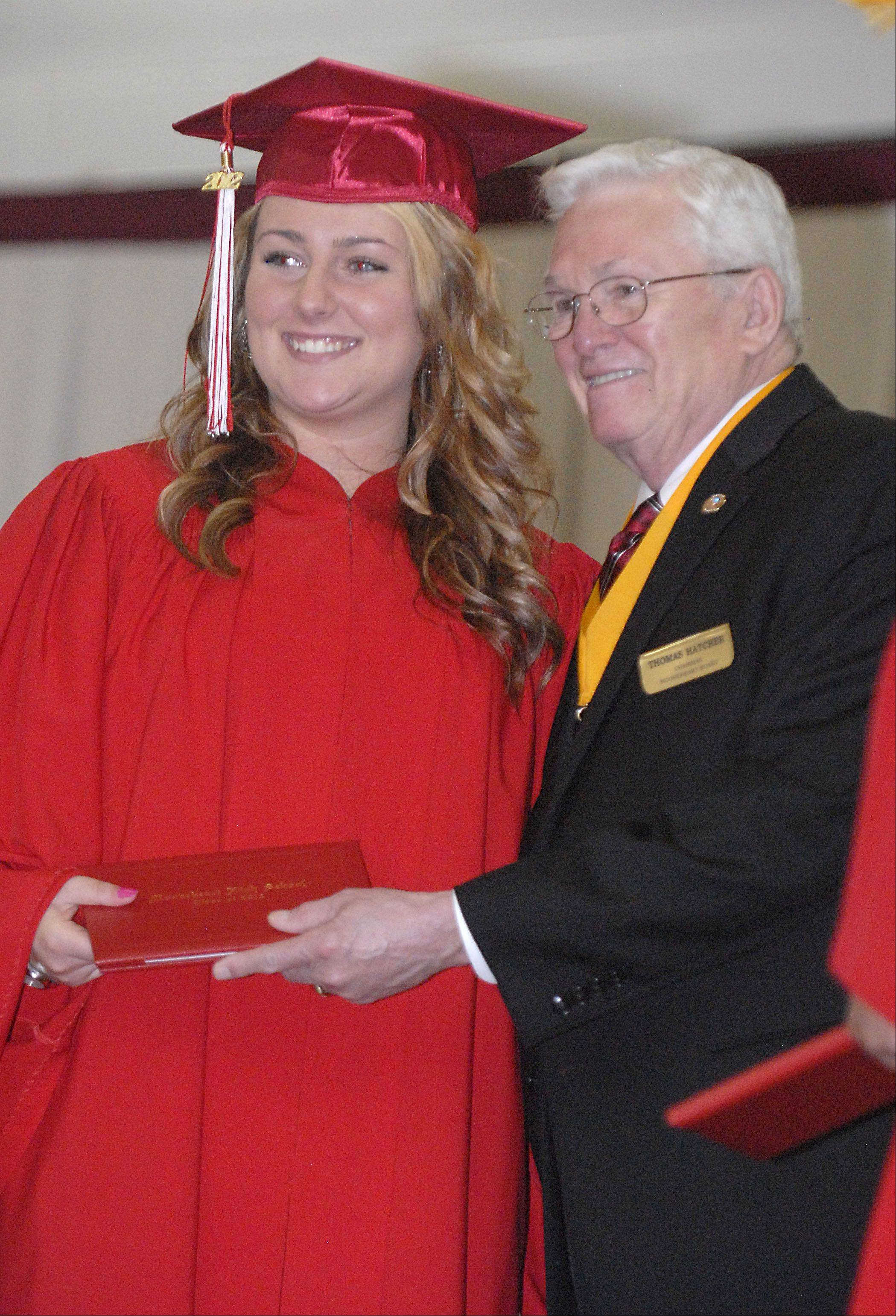 Images from the Mooseheart High School graduation ceremony Saturday, June 2, 2012.