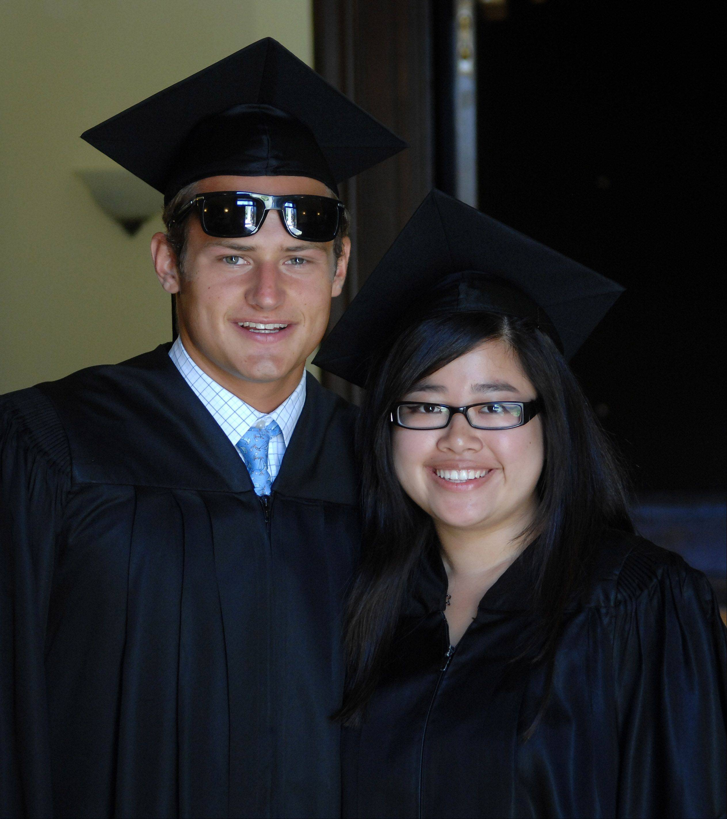 Images from the Elgin Academy graduation ceremony Saturday, June 2, 2012.