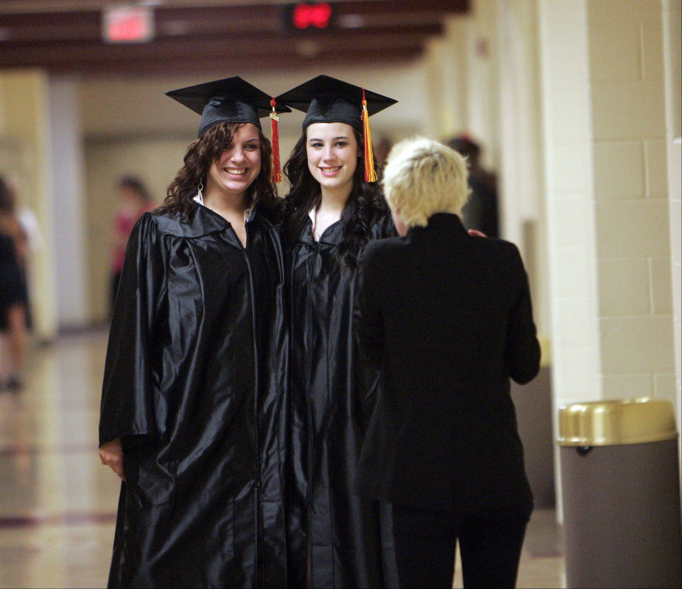 Images from the Batavia High School graduation ceremony.
