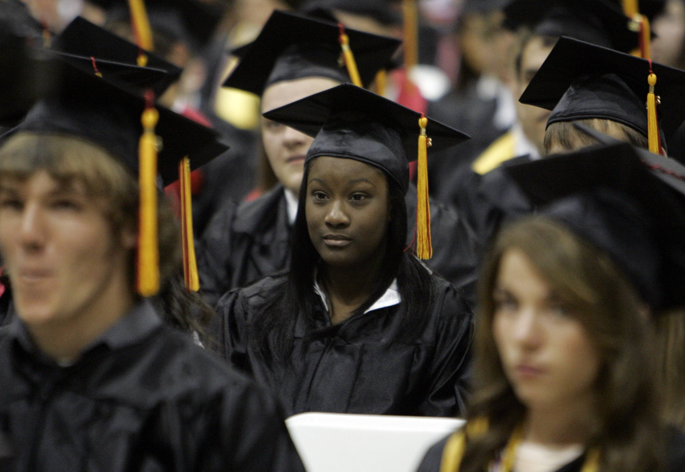 Images from the Batavia High School graduation.
