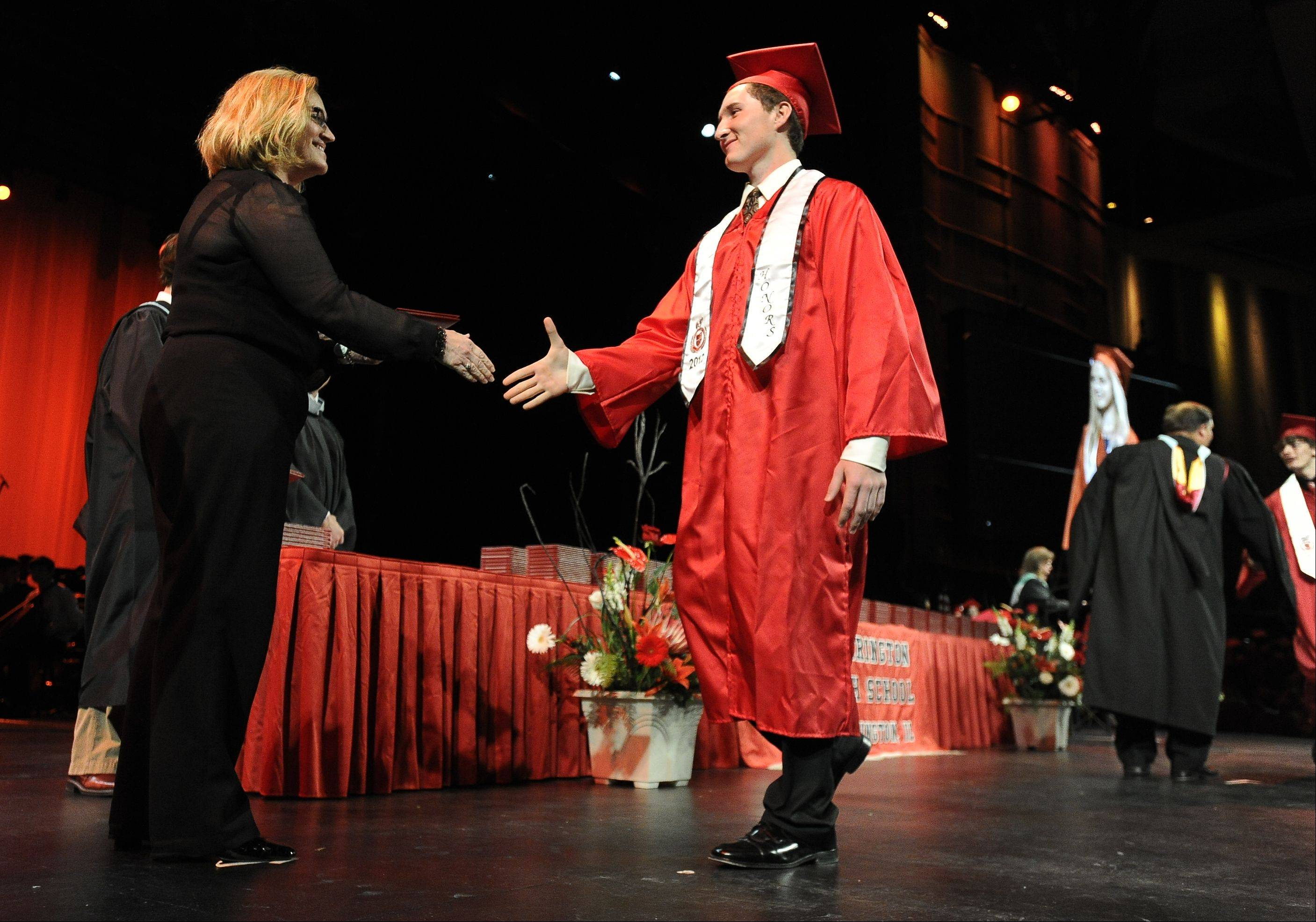 Images from the Barrington High School graduation on Friday, June 1st, at Willow Creek Church in Barrington.